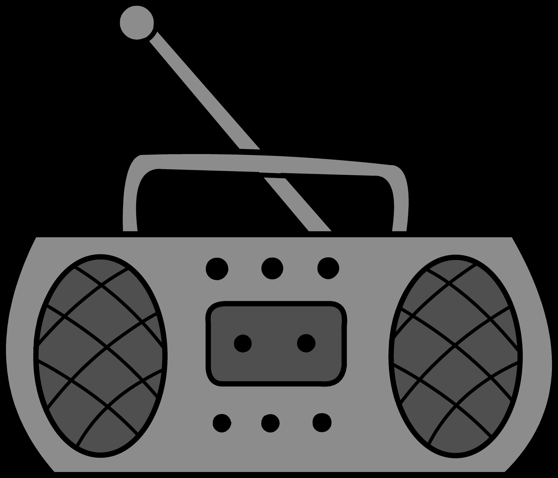 Cute Radio Clipart Design - Free - 176.7KB