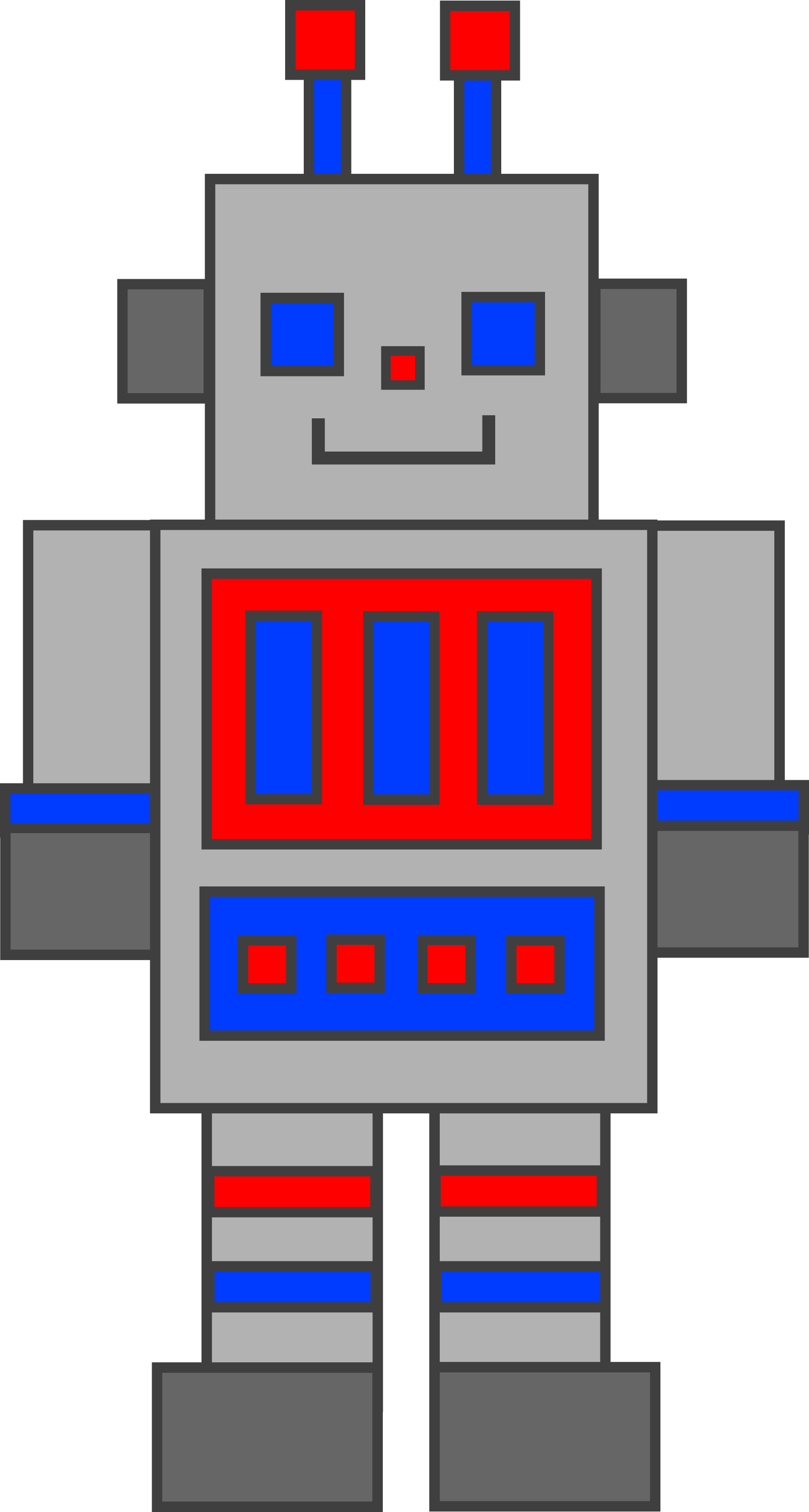 animated robot clipart - photo #41
