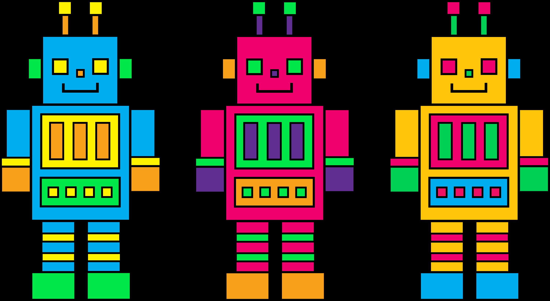 cute robot clipart - photo #46