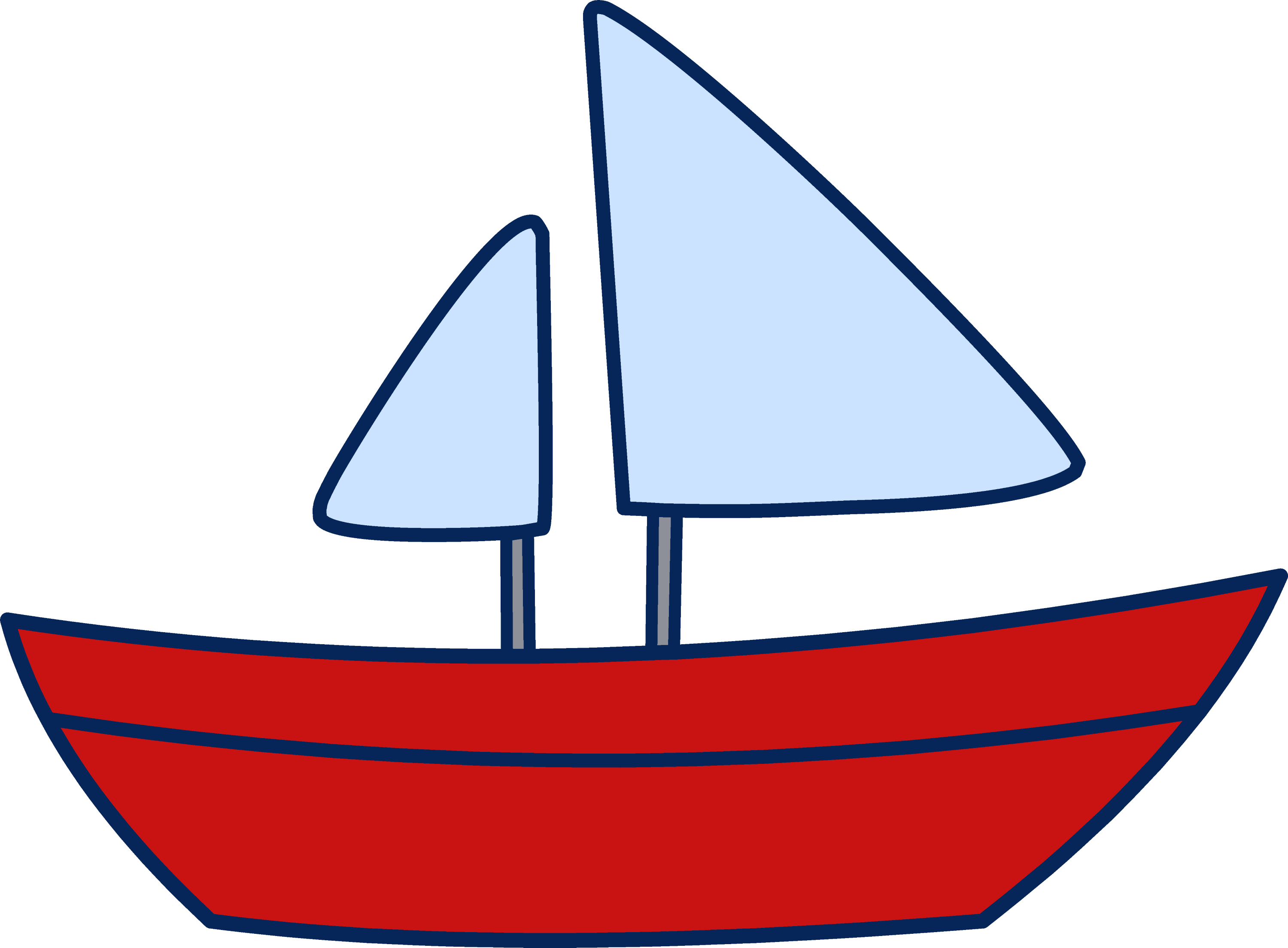 Sail Boat Clip Art Images & Pictures - Becuo