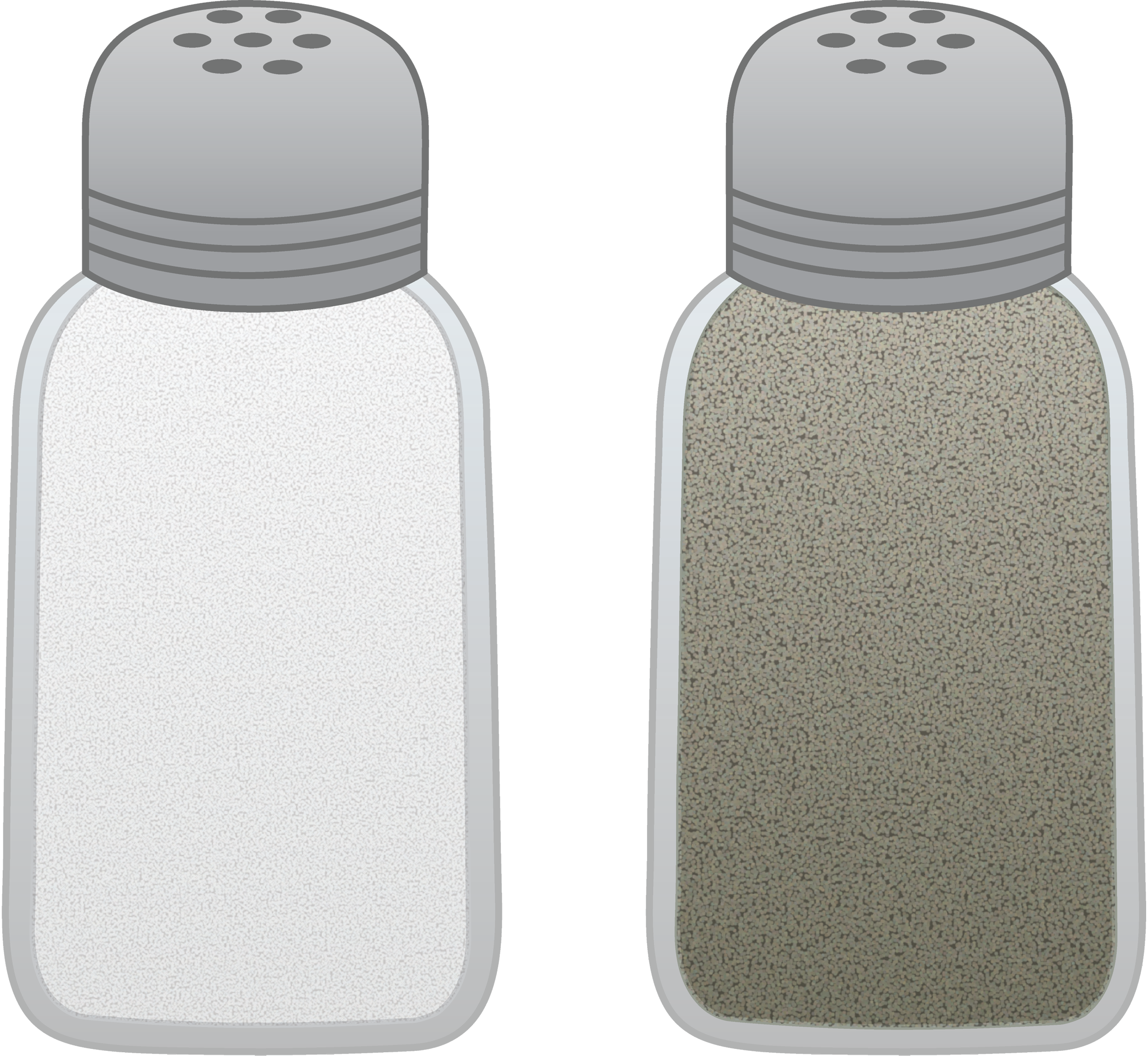 Salt and Pepper Shakers Free Clip Art