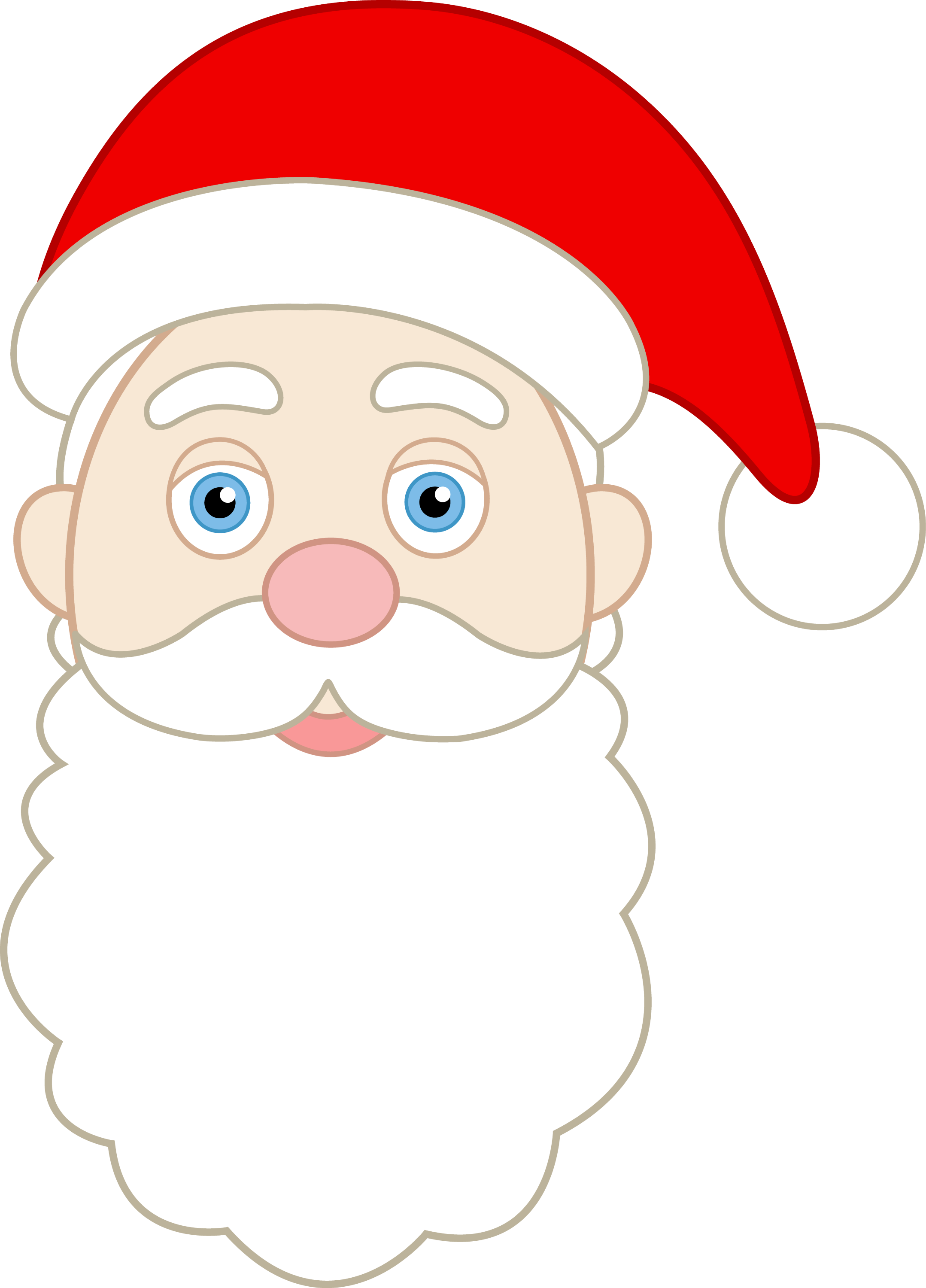 Santa Claus Beard Png Images & Pictures - Becuo