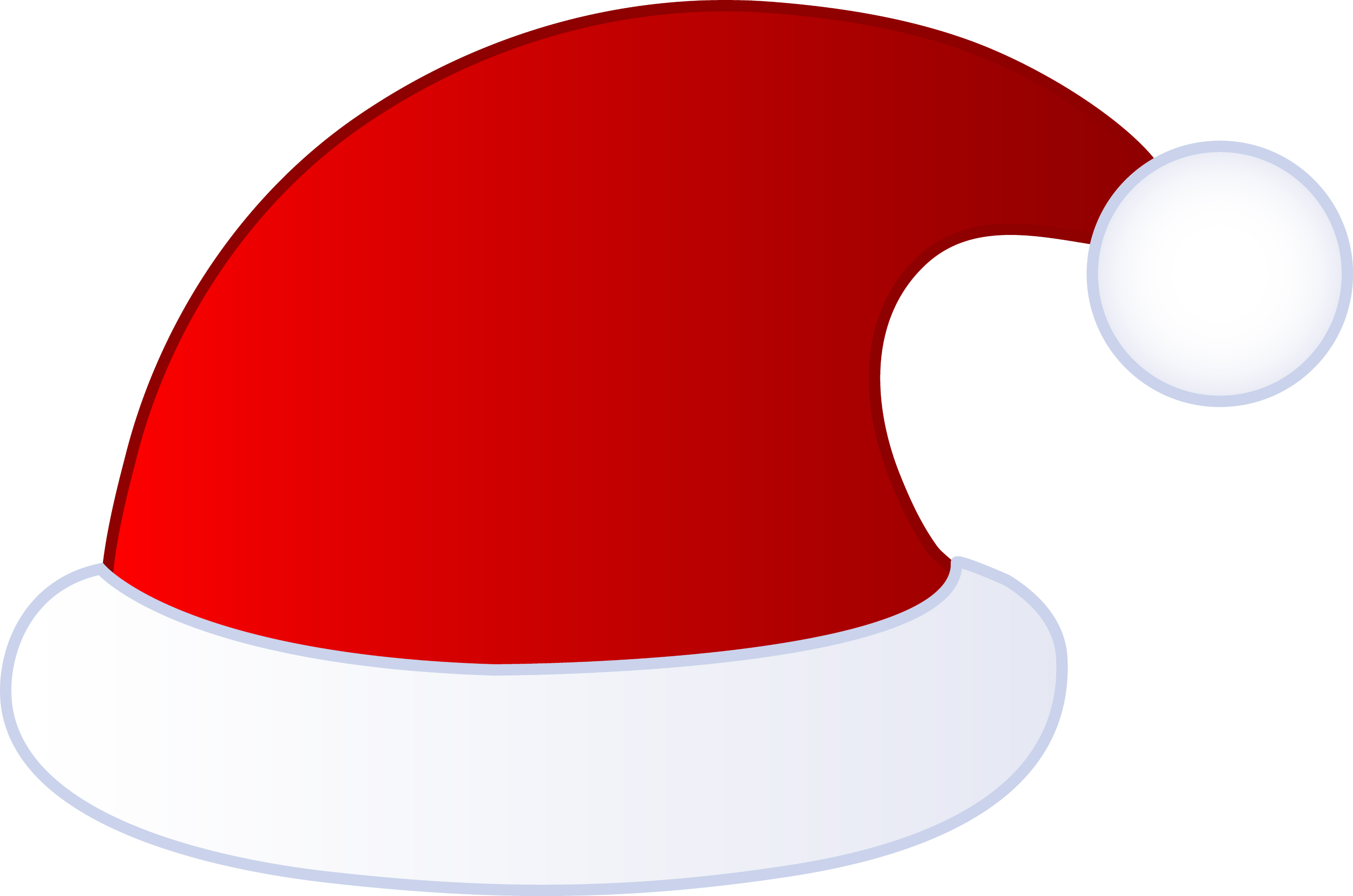 santa hat clipart with transparent background - photo #24