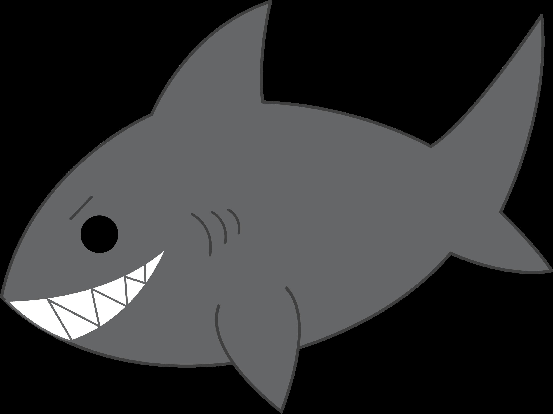 mischievous gray shark free clip art rh sweetclipart com gray whale clip art grey clip art