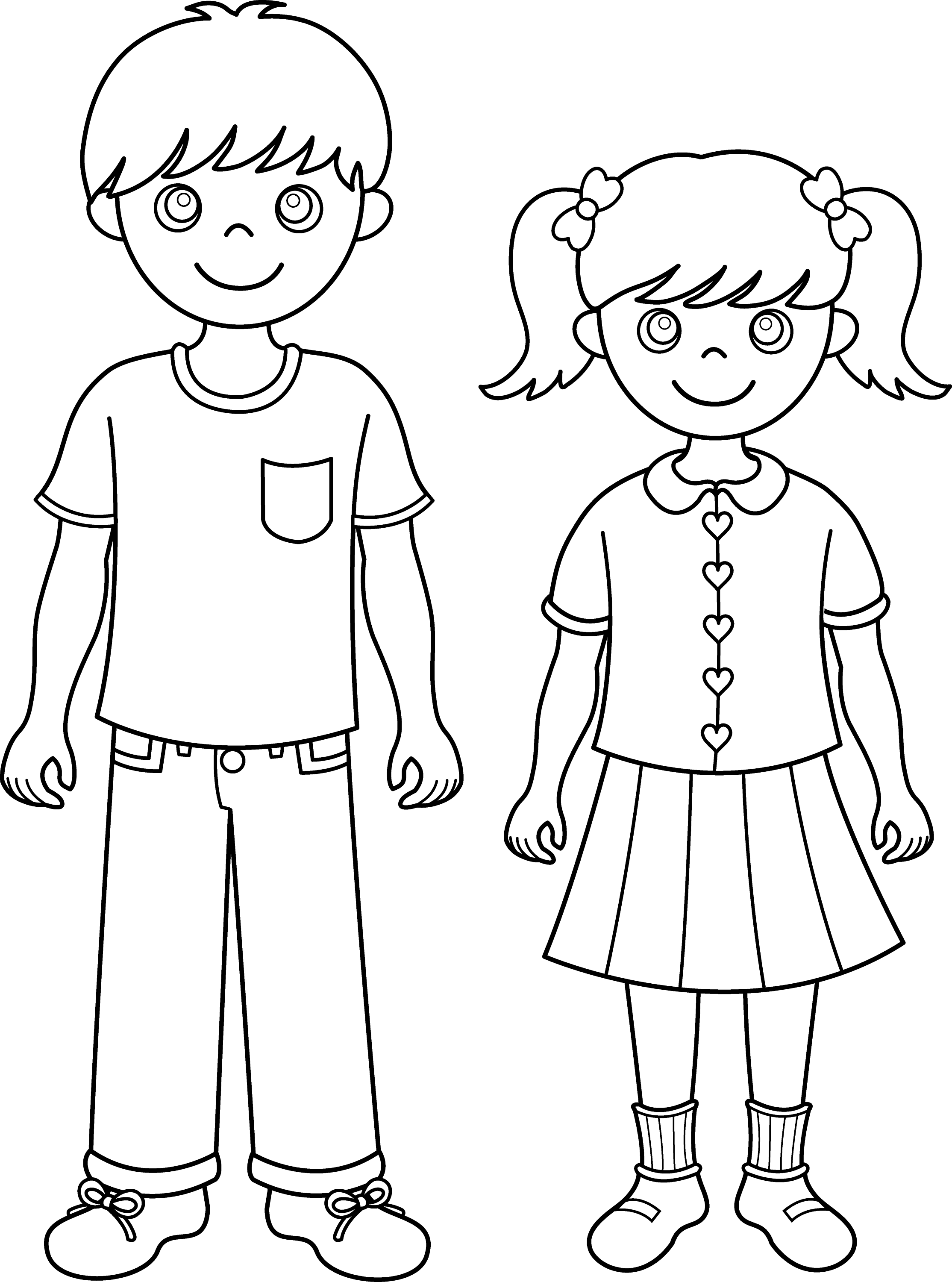 brother coloring pages - photo#1