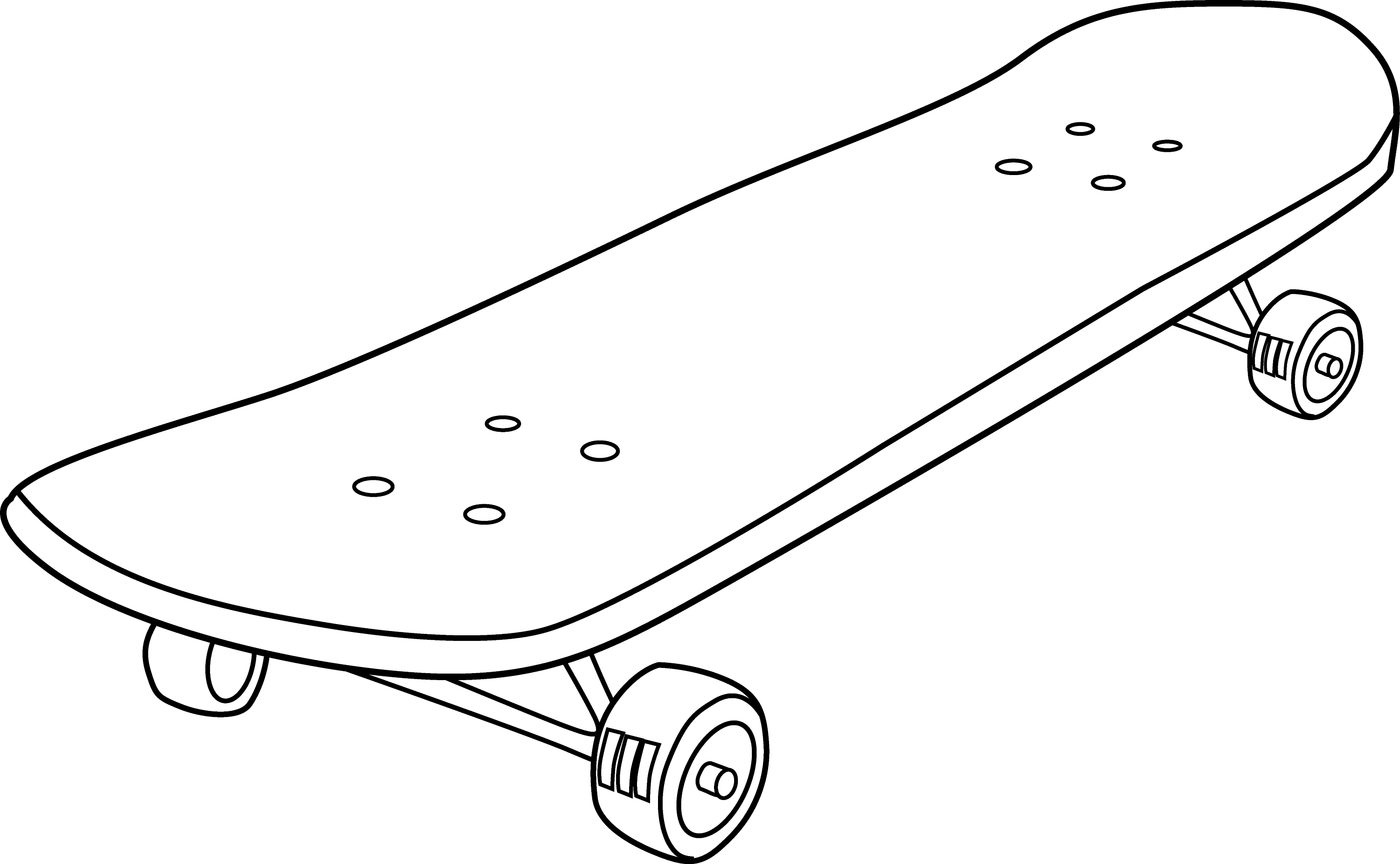 skateboard coloring pages for kids - photo#24