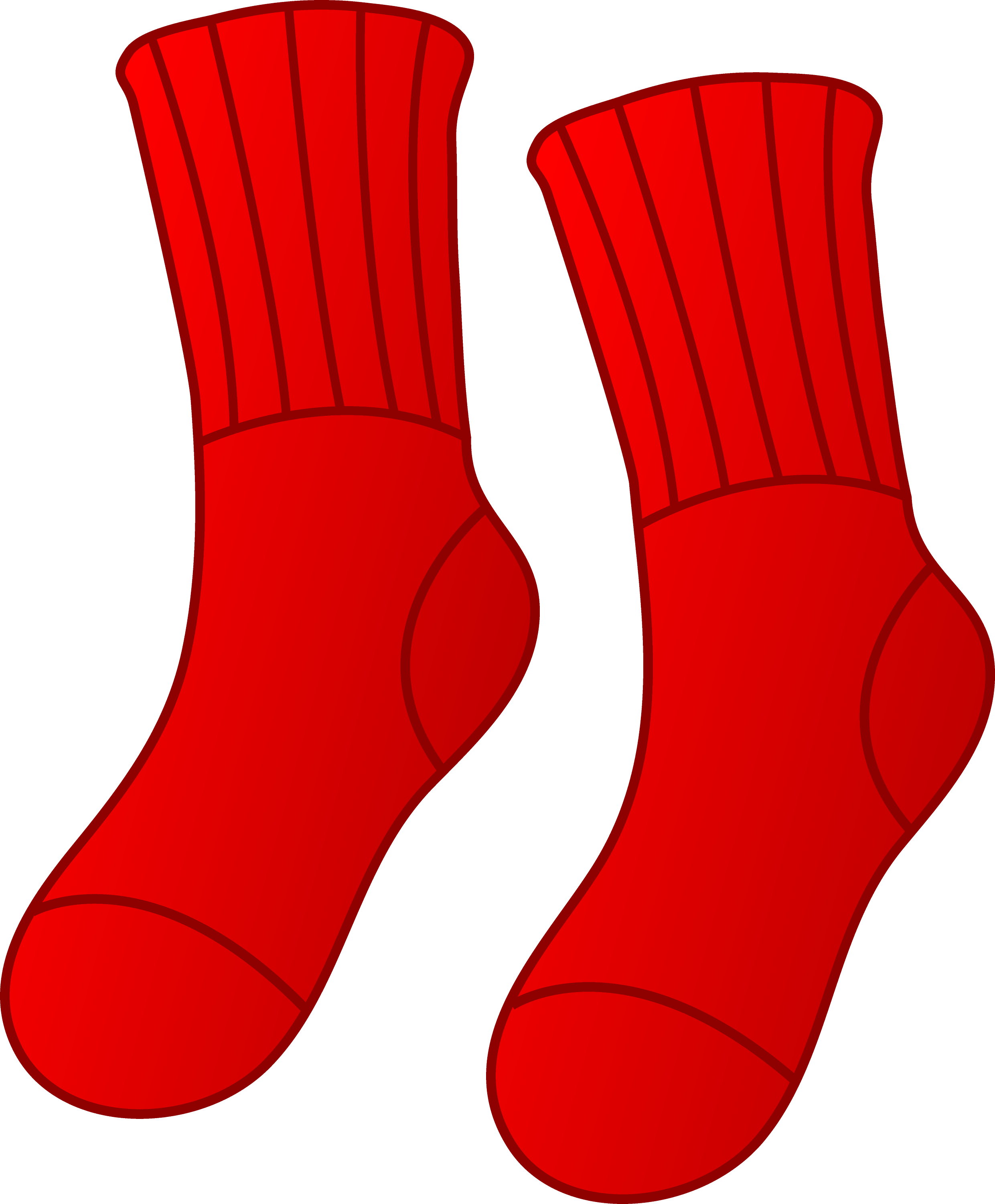 pair of red socks free clip art rh sweetclipart com socks clipart sick clipart