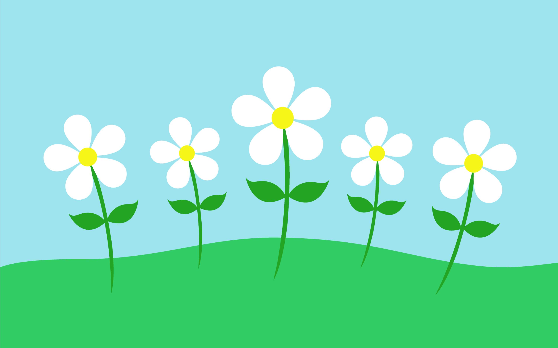 free simple spring flowers -#main