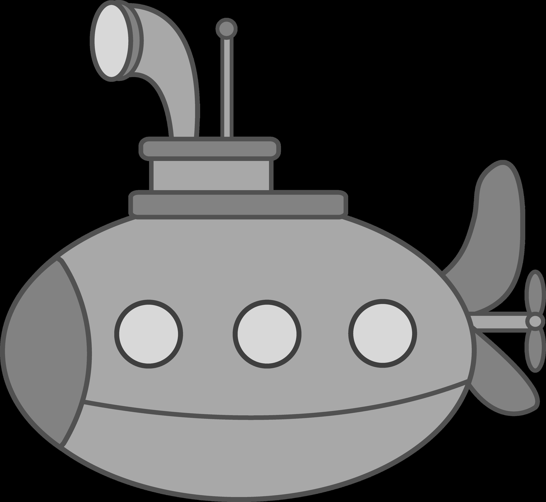 Navy Submarine Clipart...