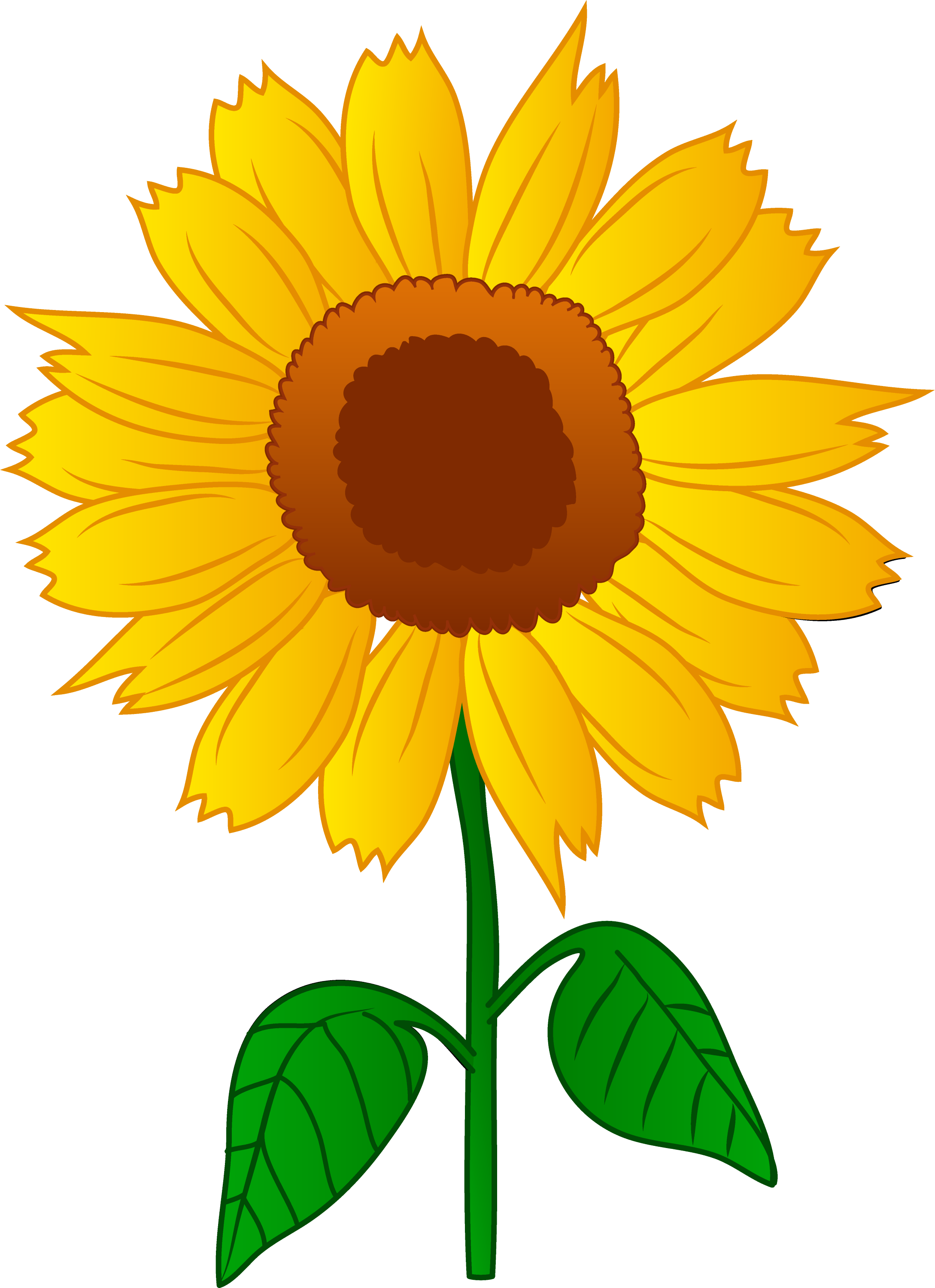 clip art borders sunflowers - photo #49