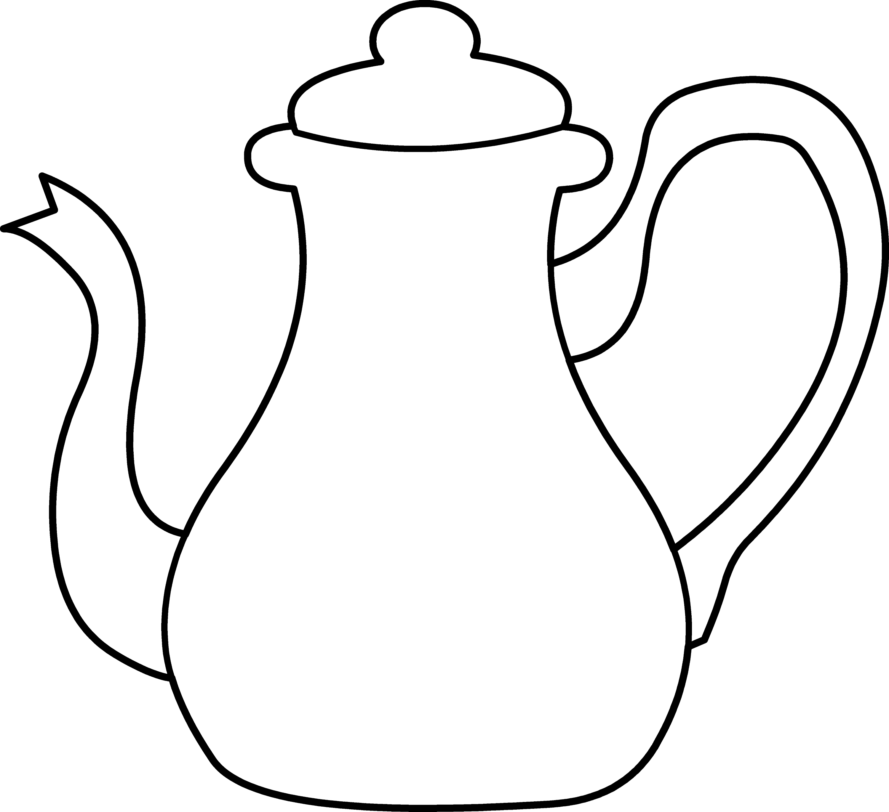 tea kettle coloring page free clip art rh sweetclipart com teapot clipart images teapot clip art for business cards