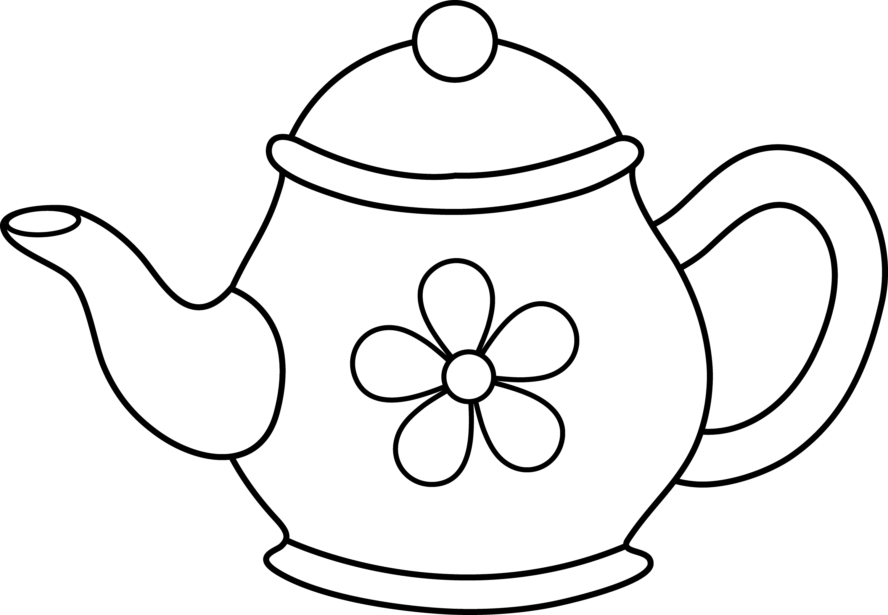 i am a little teapot coloring pages - photo #16