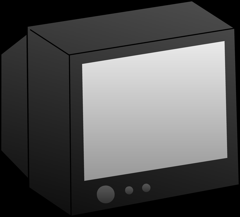 tv clipart. simple black television clip art tv clipart