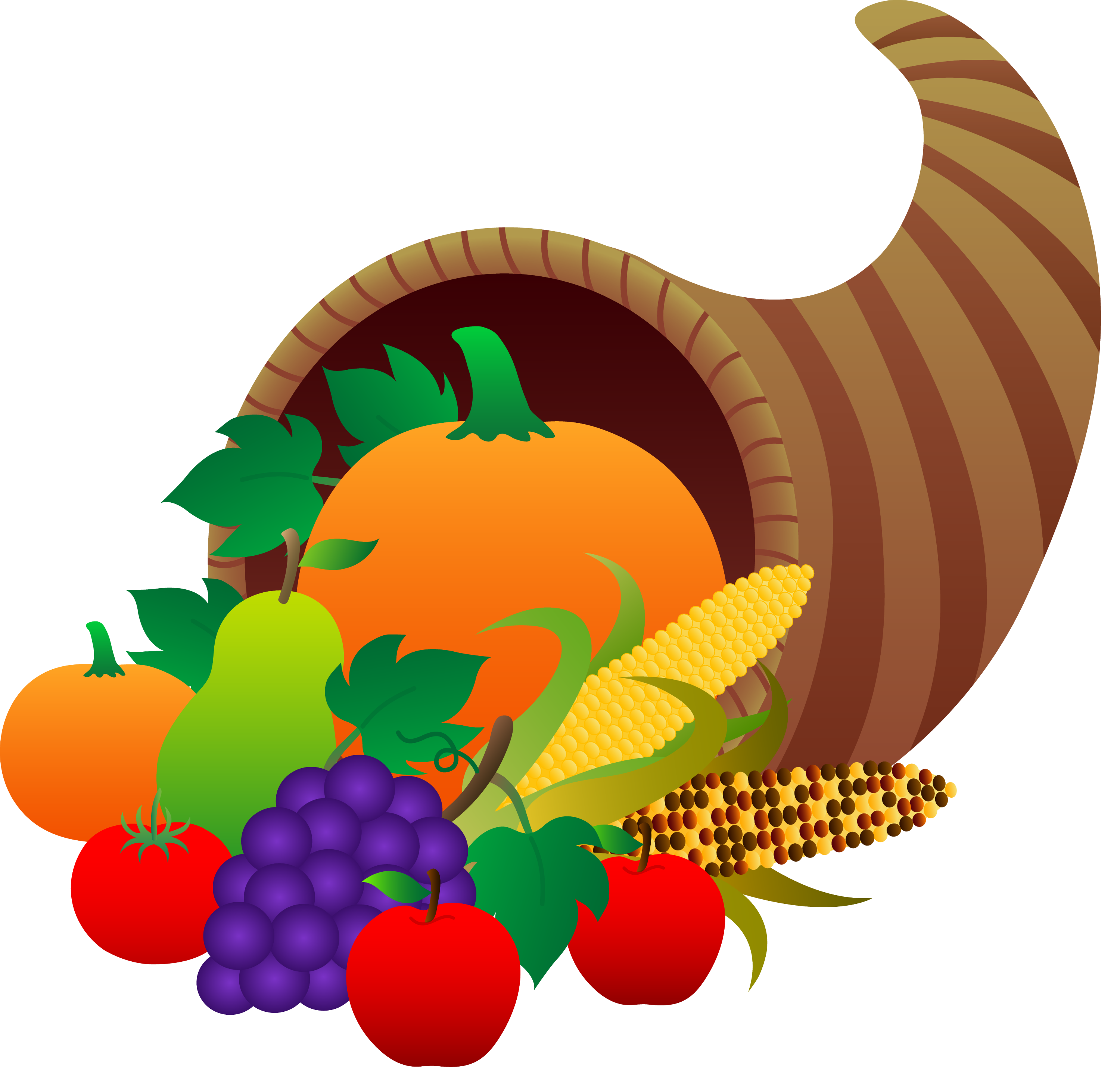 thanksgiving cornucopia free clip art rh sweetclipart com free clip art thanksgiving pictures free clipart thanksgiving turkeys