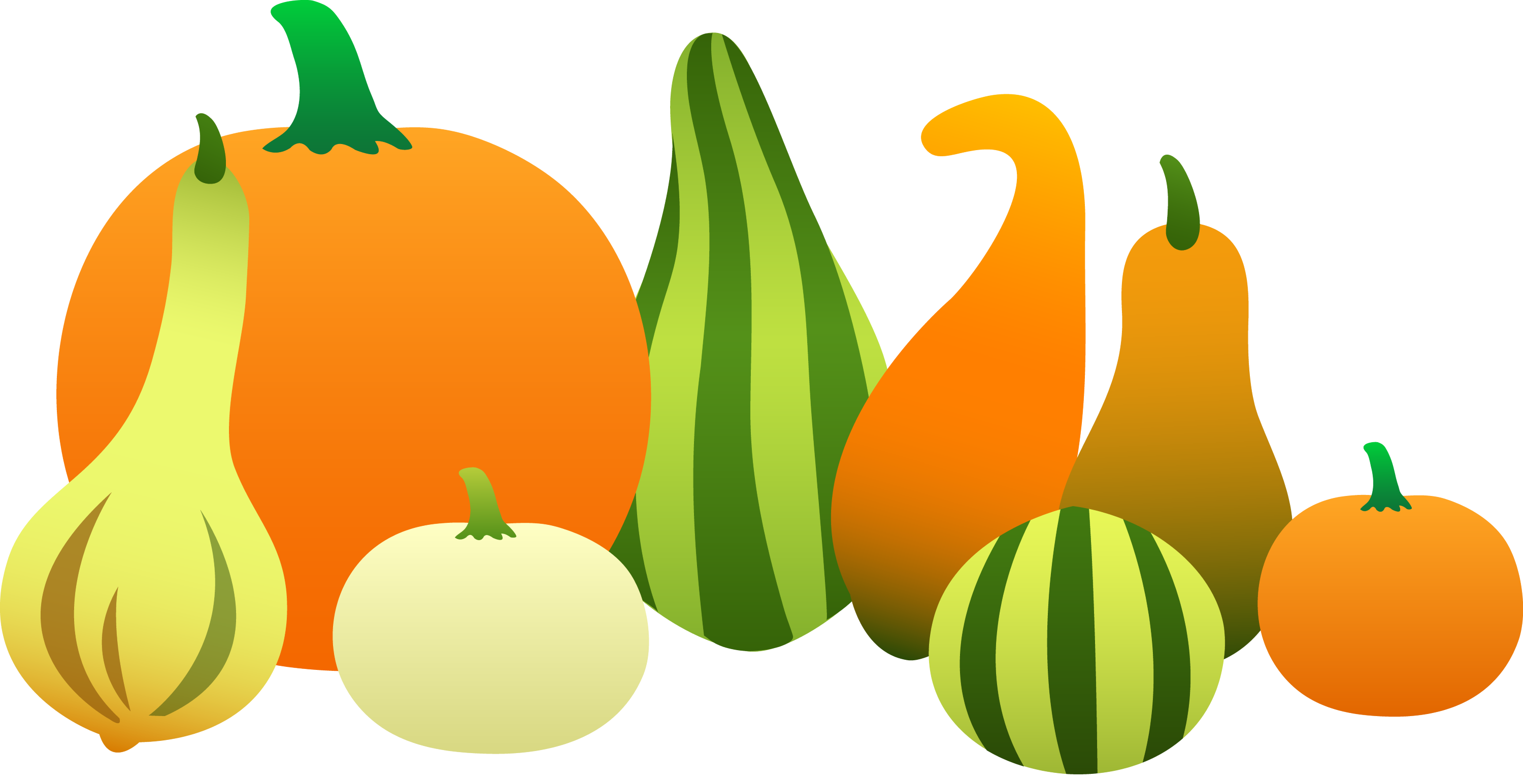 thanksgiving harvest gourds free clip art rh sweetclipart com Clip Art Borders and Frames Pumpkin Border Clip Art