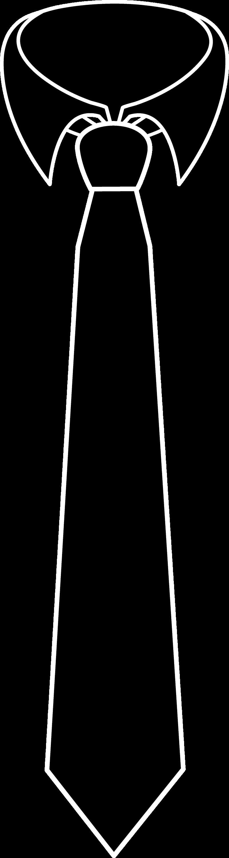 Black Necktie SilhouetteMan Bow Tie Silhouette