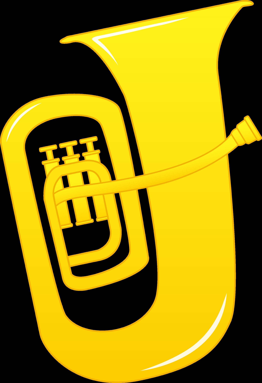 Tuba Clip Art Illustration