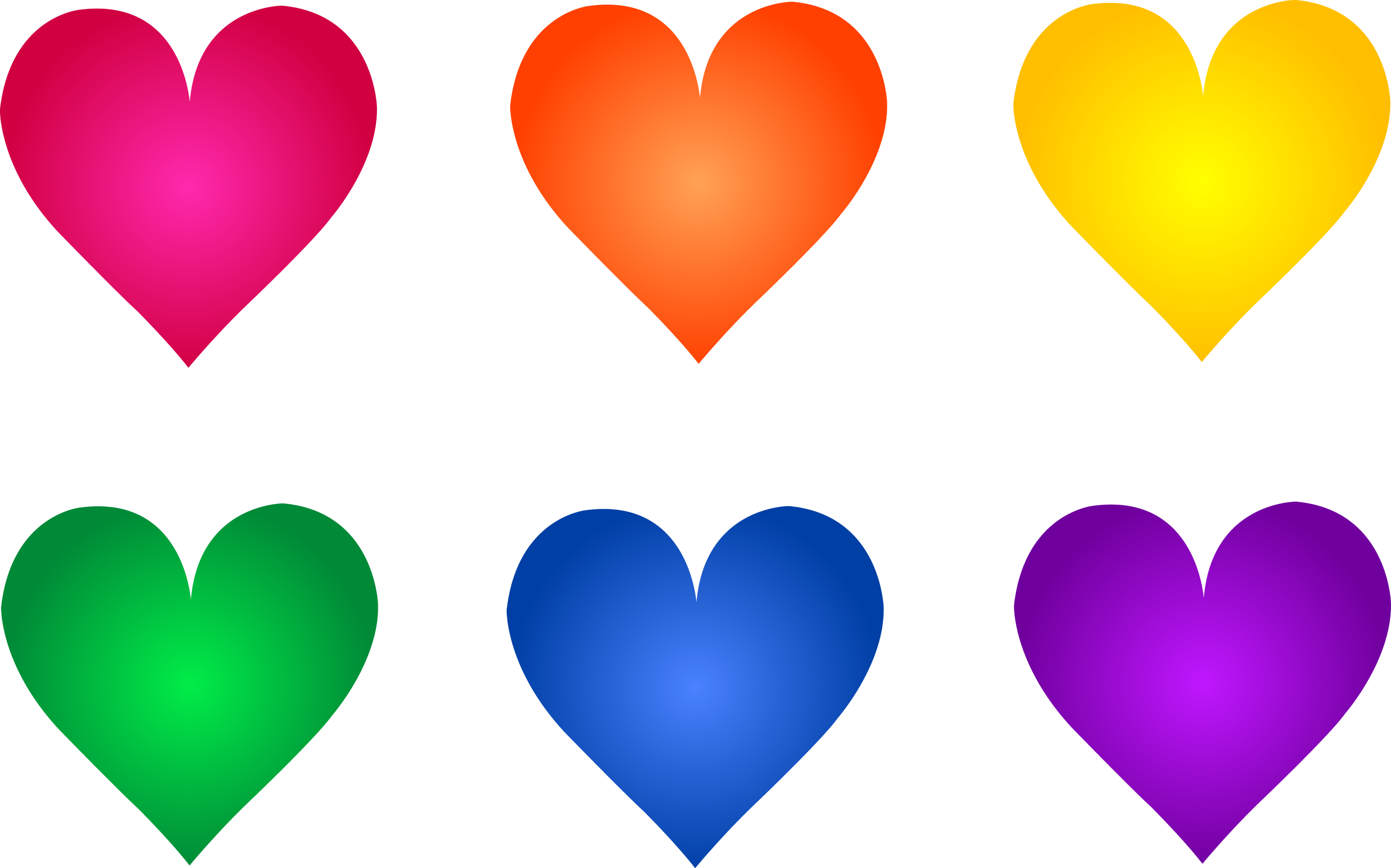 rainbow valentine heart symbols - Pictures Of Valentines Hearts
