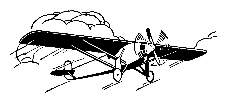 vintage airplane clip art free clip art rh sweetclipart com Vintage Airplane Drawings red vintage airplane clipart