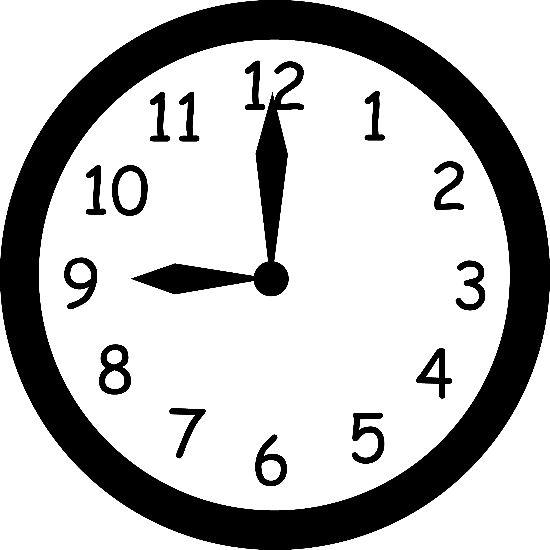 clock 9 O'clock 9 O'clock ClipArt ETC 9 O'clock 9 O'Clock ...