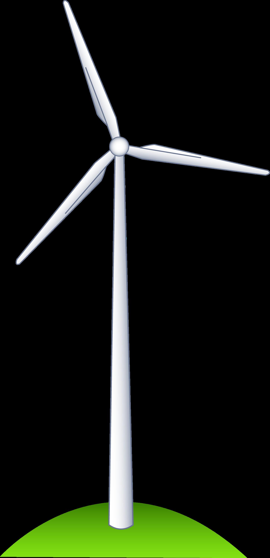 wind turbine on a hill free clip art rh sweetclipart com wind turbine clip art free clipart wind turbine svg