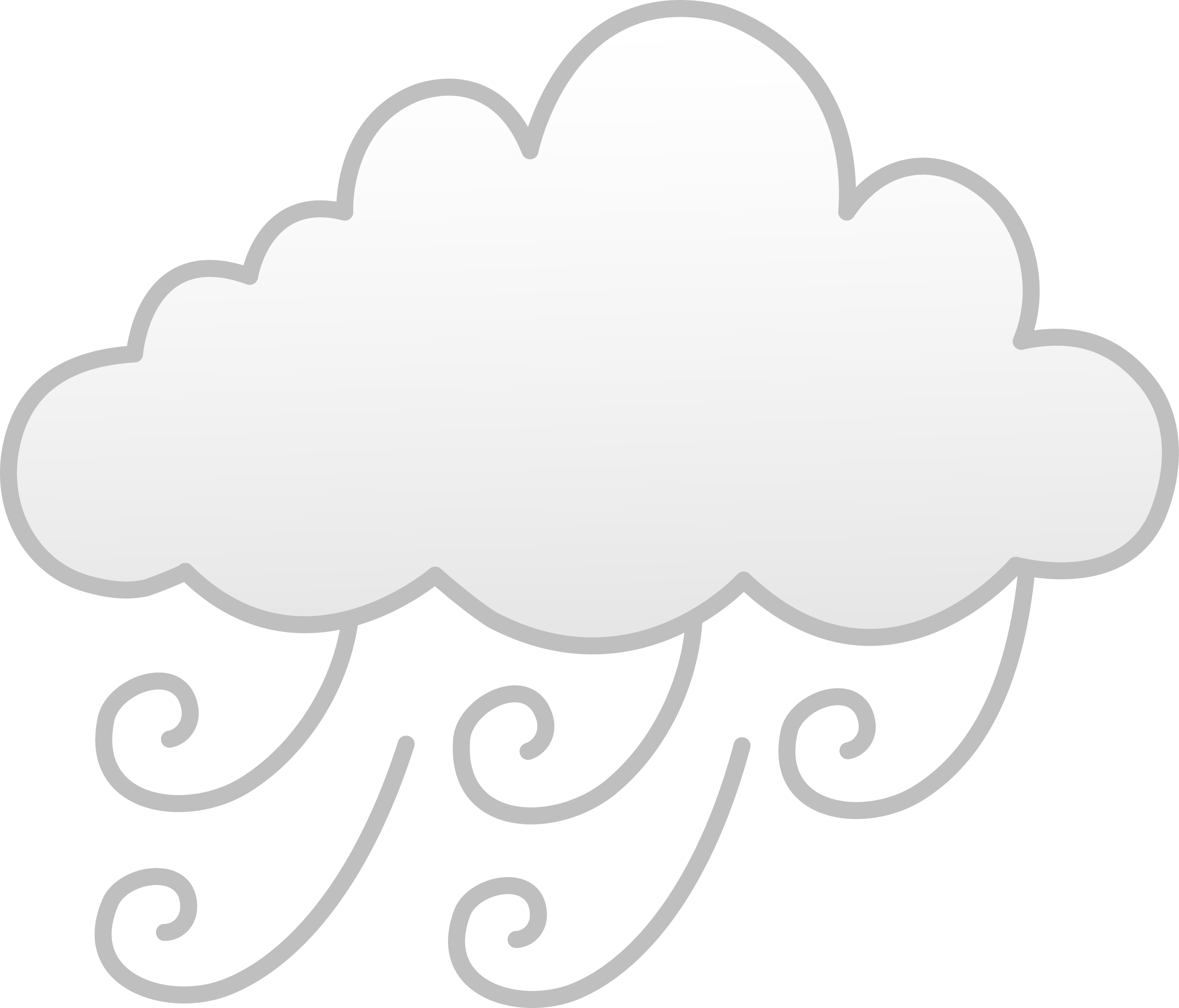 Symbol Weather Windy Clip Art