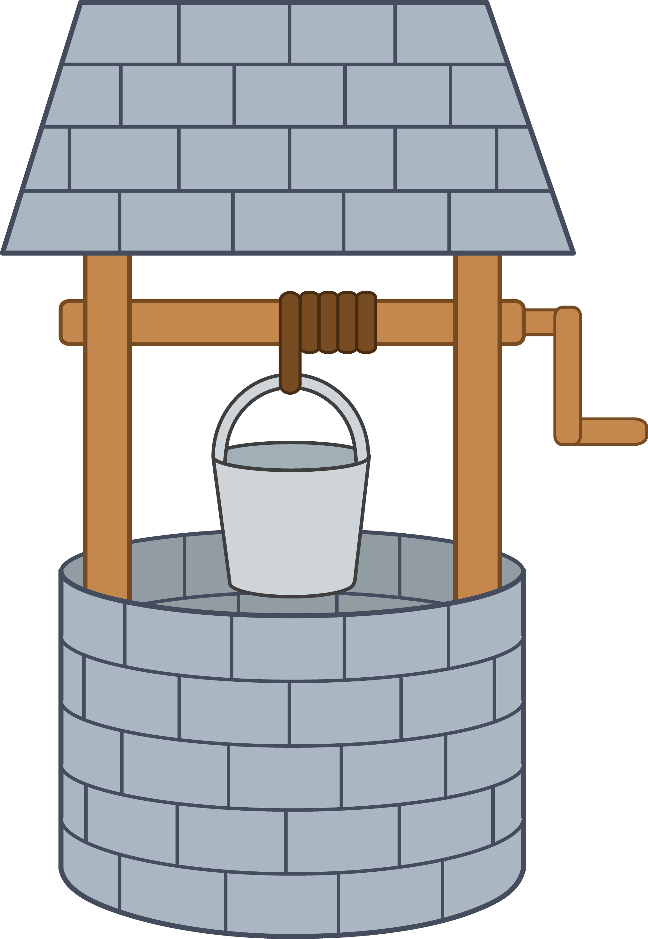 Cute wishing well free clip art for Well pictures