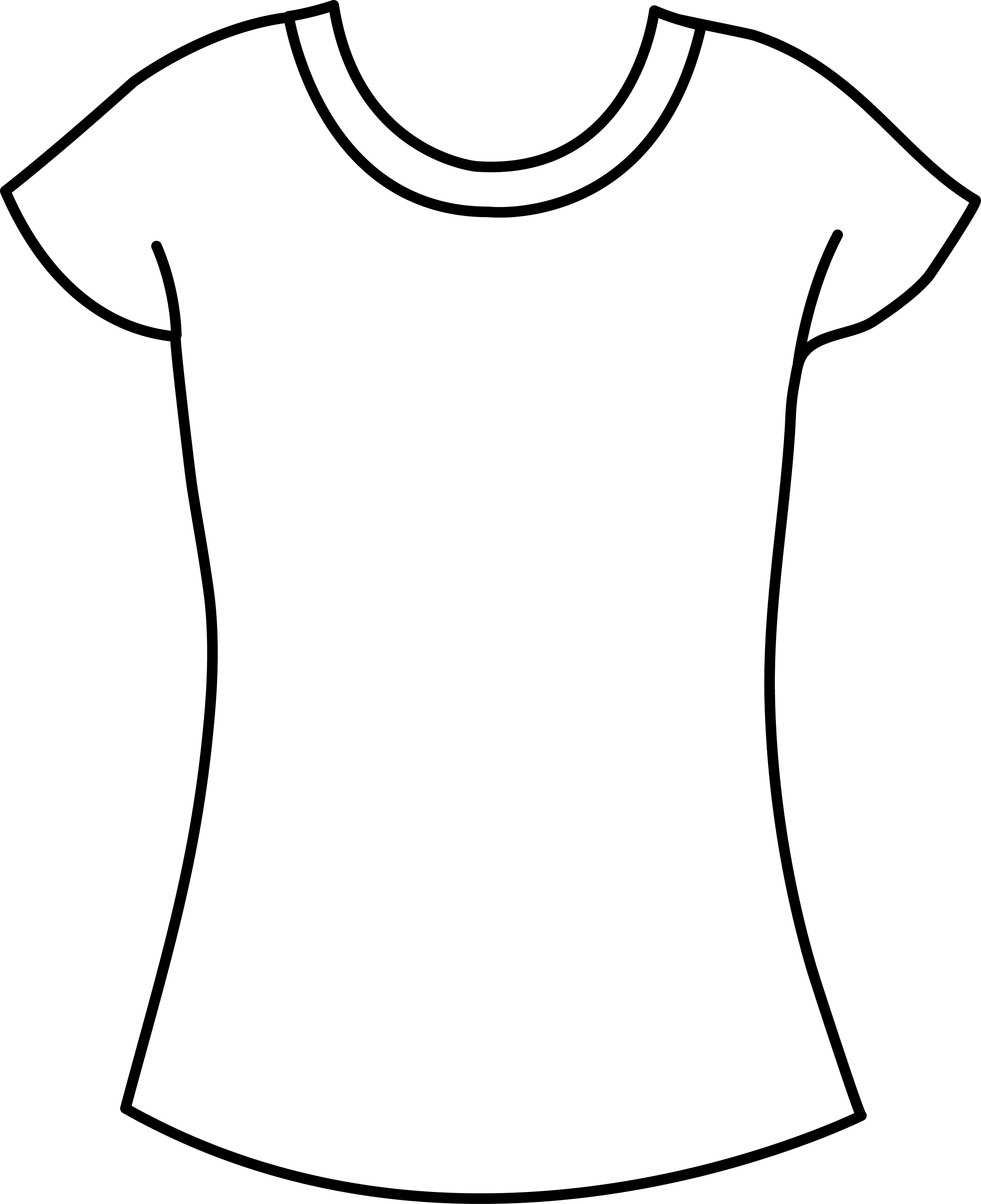 womens t shirt template free clip art