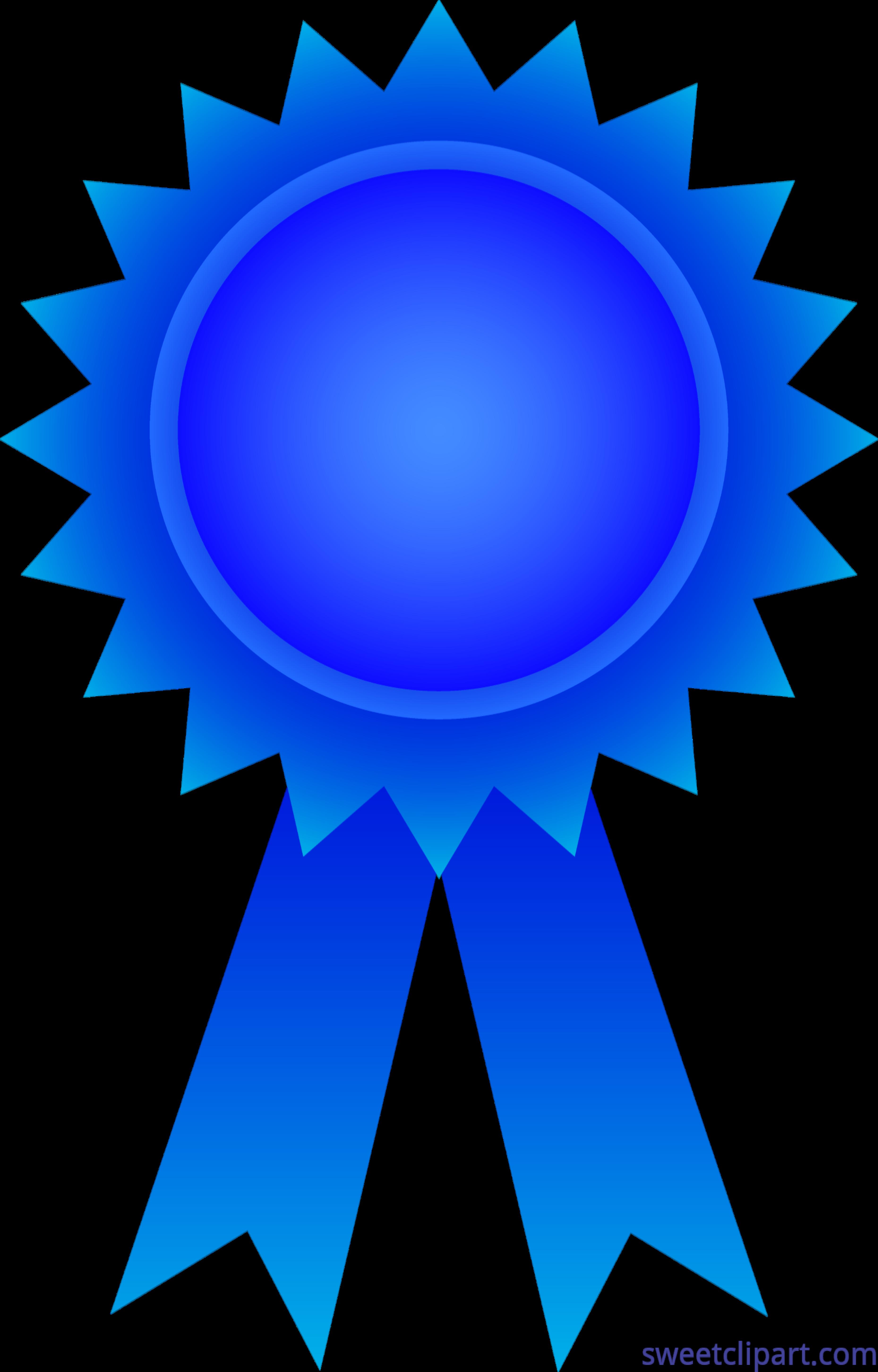award ribbon blue clip art sweet clip art