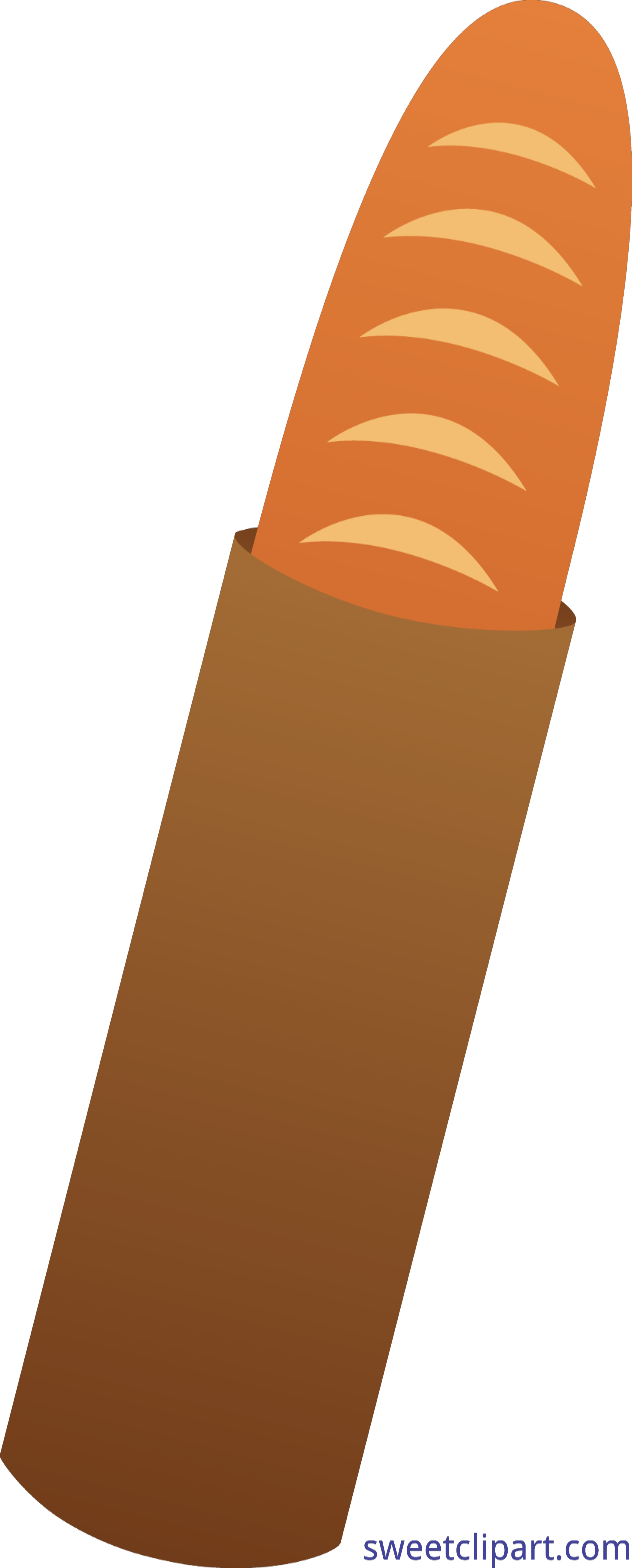 Baguette Bread Clip Art