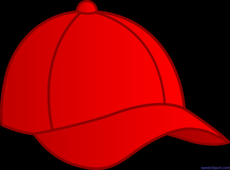 44c27ee8cd3f2 Baseball Cap Red Clip Art - Sweet Clip Art
