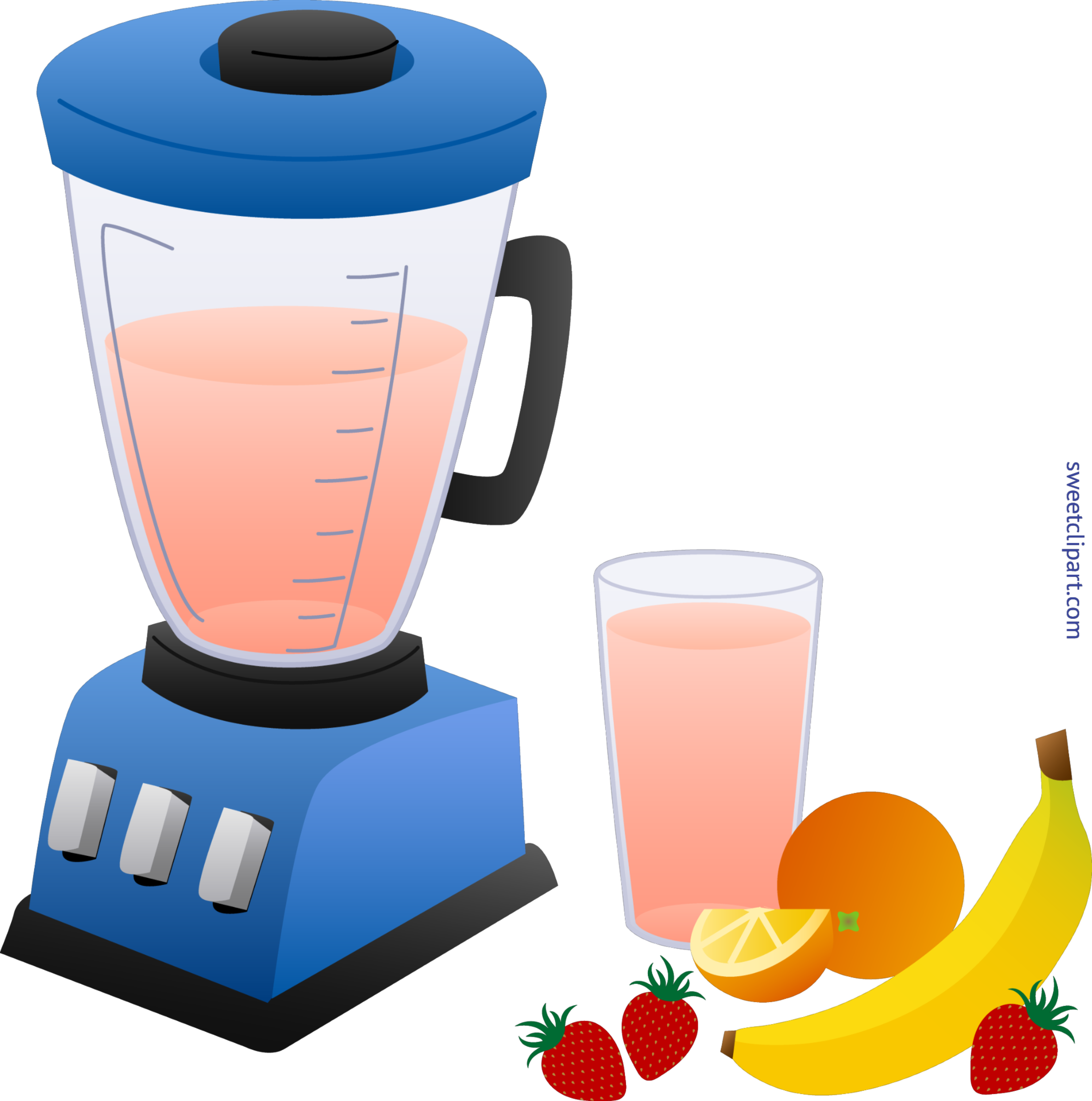 Blender And Fruit Smoothie Clip Art Sweet Rh M Sweetclipart Com Artist Coloring Pages Christmas
