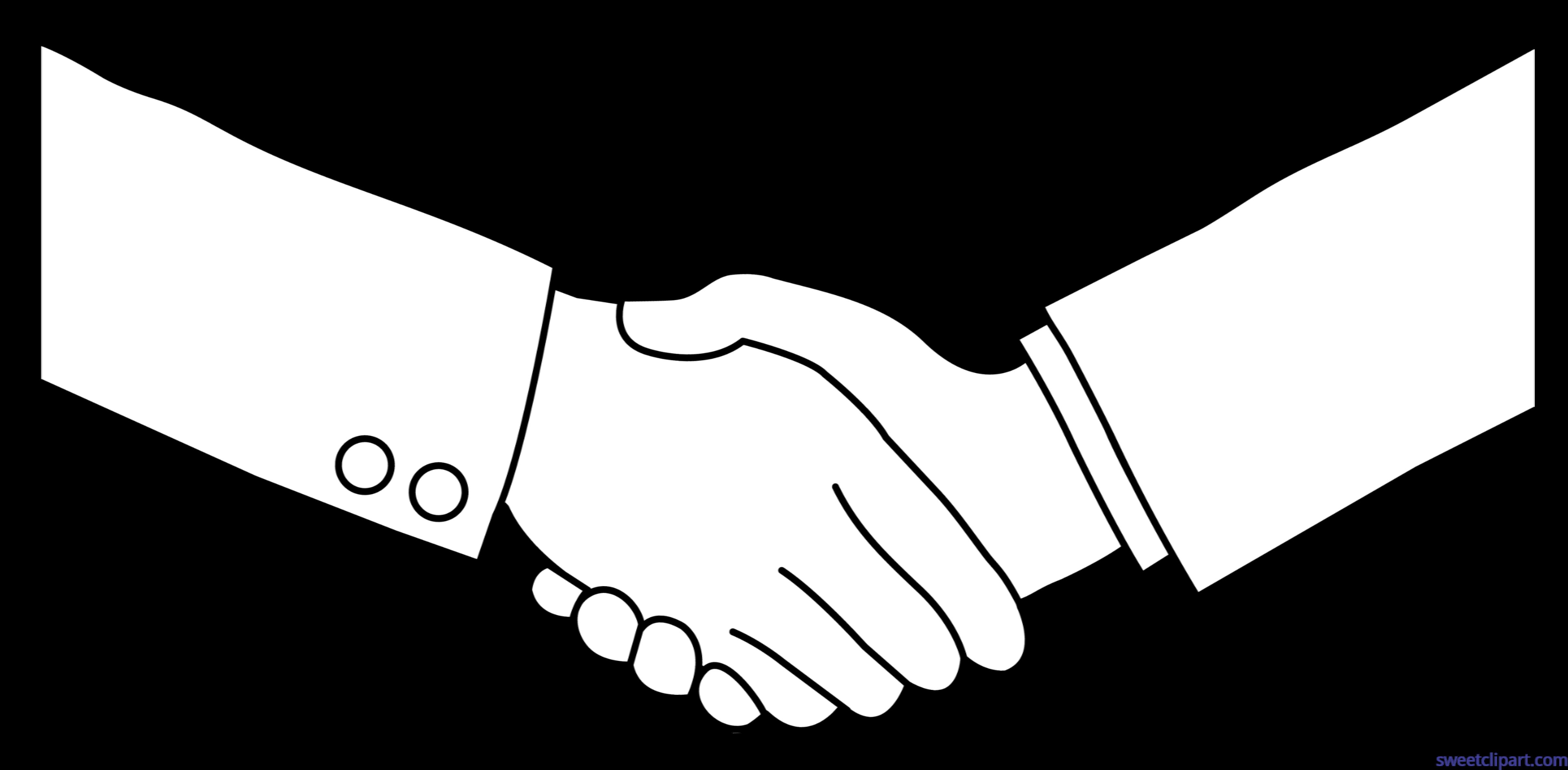 business handshake white lineart clip art sweet clip art cute free clipart of atv cute free clip art columbus day