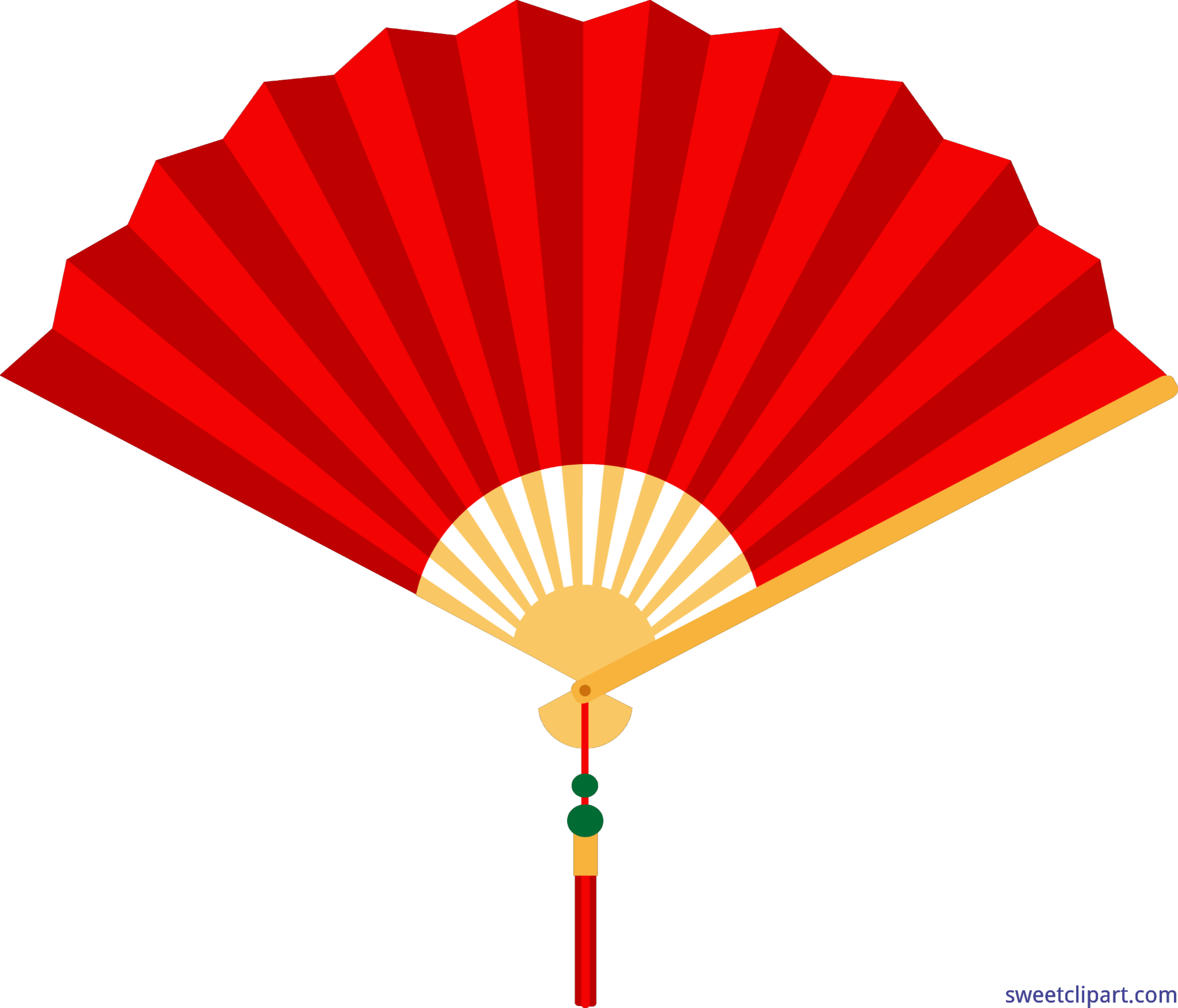 chinese fan red clip art sweet clip art rh m sweetclipart com fan clipart gif fan clipart black and white