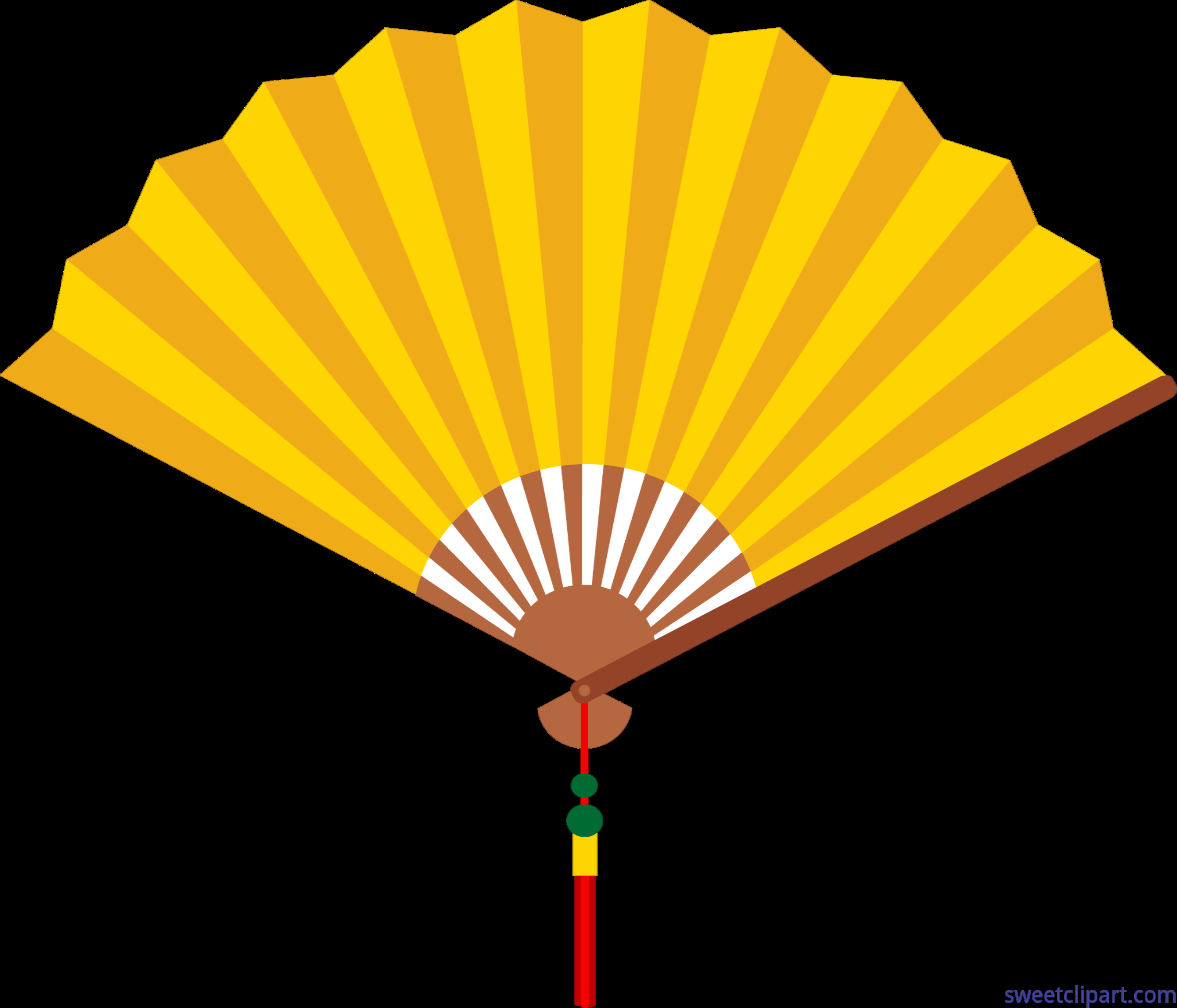 chinese fan yellow clip art sweet clip art rh m sweetclipart com clipart fantome clipart fancy rectangles
