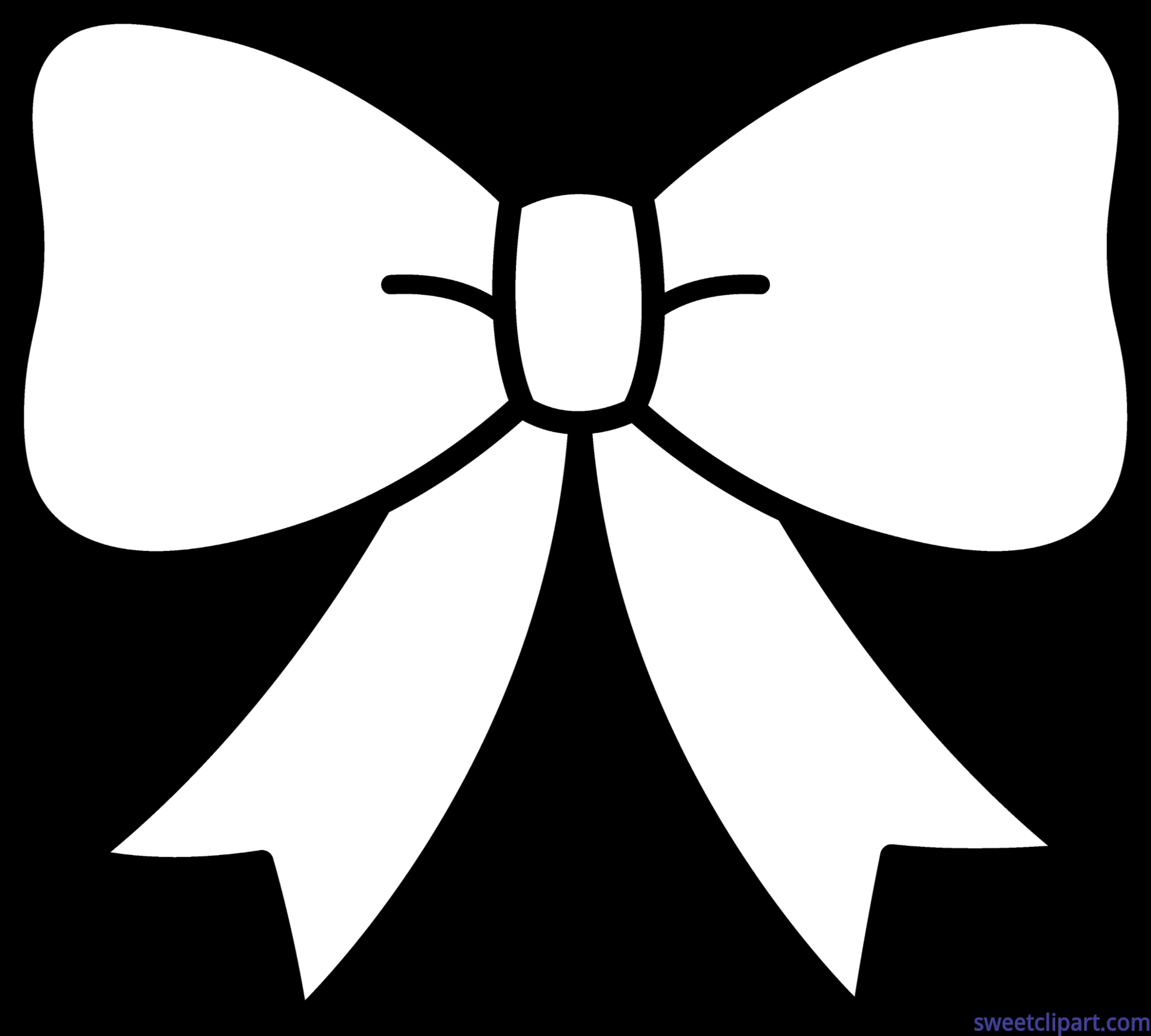 Cute Bow Black White Clip Art - Sweet Clip Art for Tie Clip Art Black And White  70ref