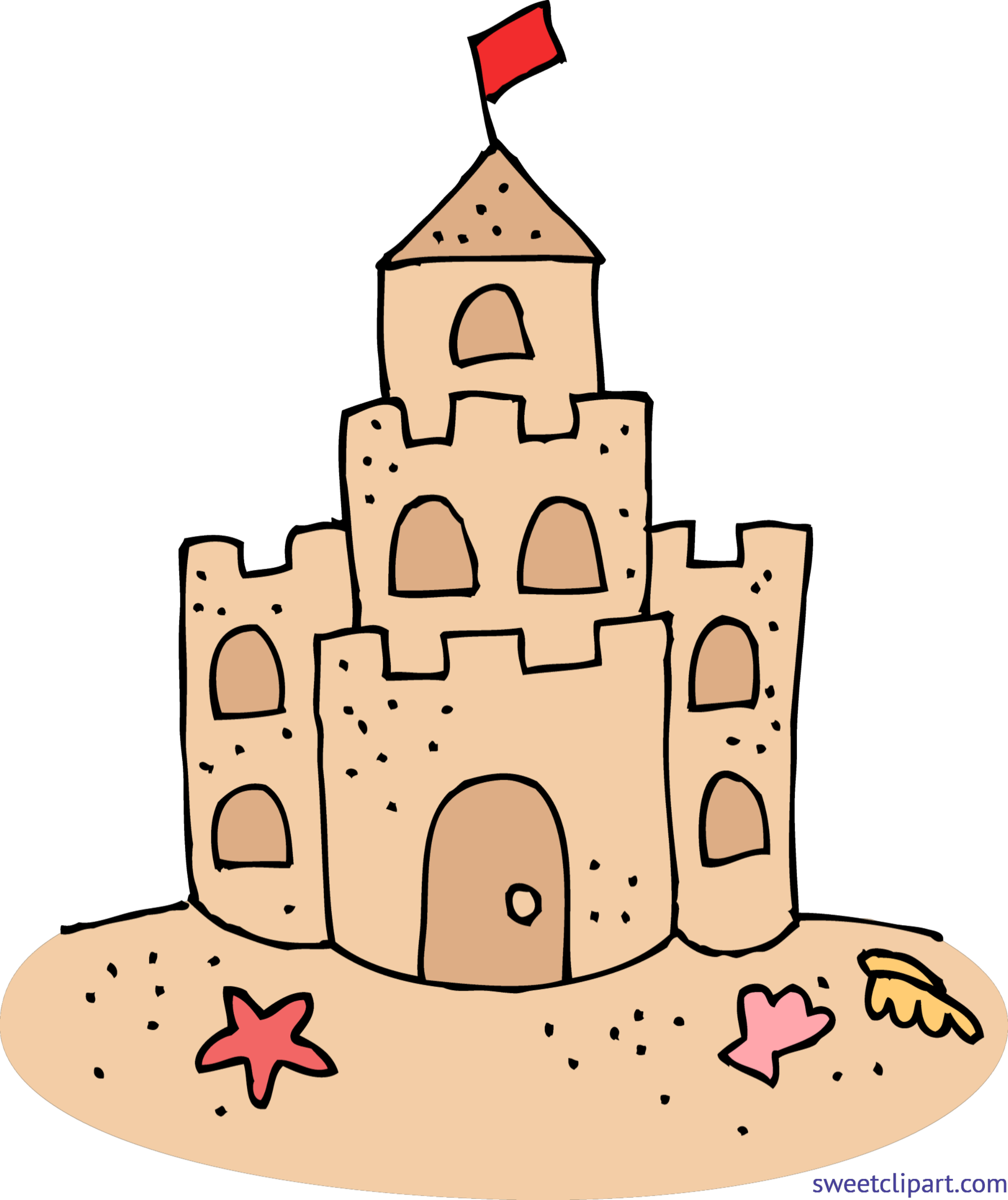 cute sand castle clip art sweet clip art rh m sweetclipart com clip art castle and clouds clip art castles fairy tales