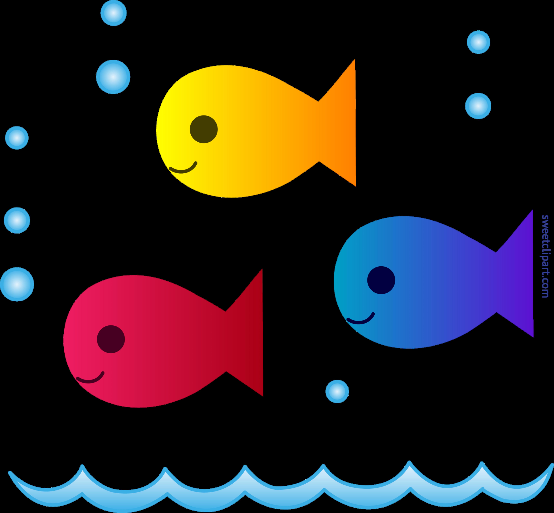 cute school of fish clip art sweet clip art rh m sweetclipart com