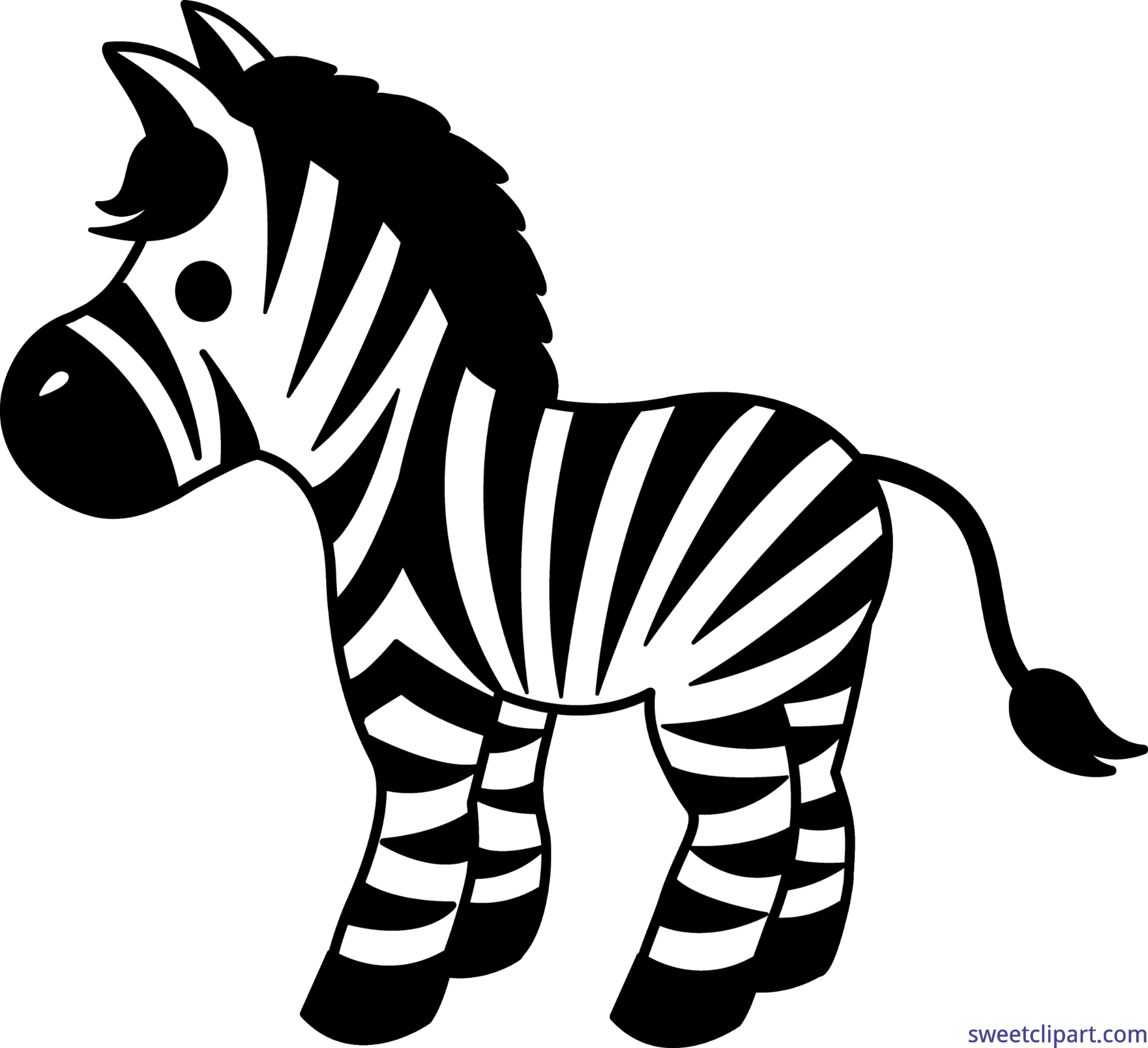 cute zebra clip art sweet clip art rh m sweetclipart com Cute Zebra Face Cute Cartoon Zebra