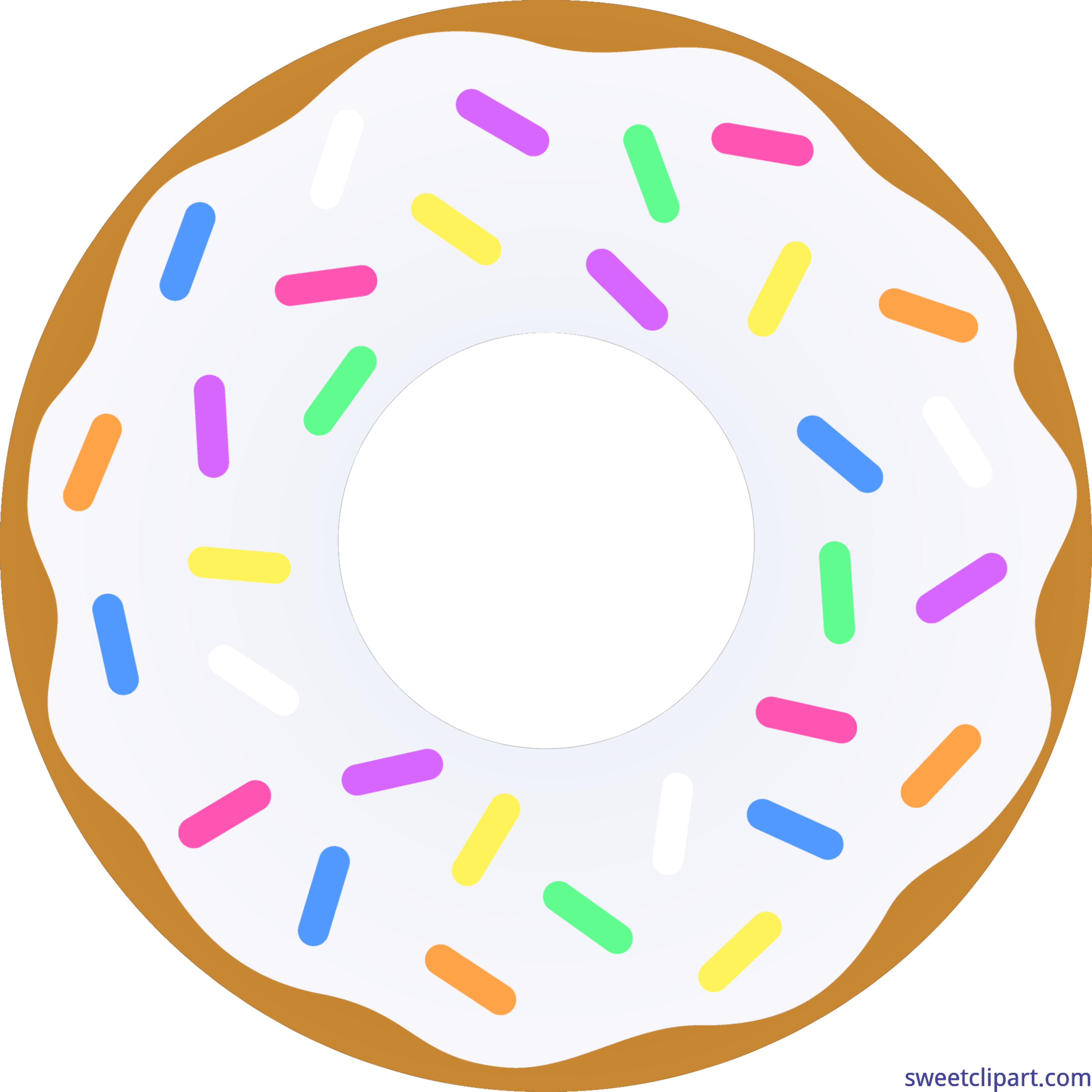 donut vanilla sprinkles clip art sweet clip art rh m sweetclipart com donuts clipart transparent donuts clipart free