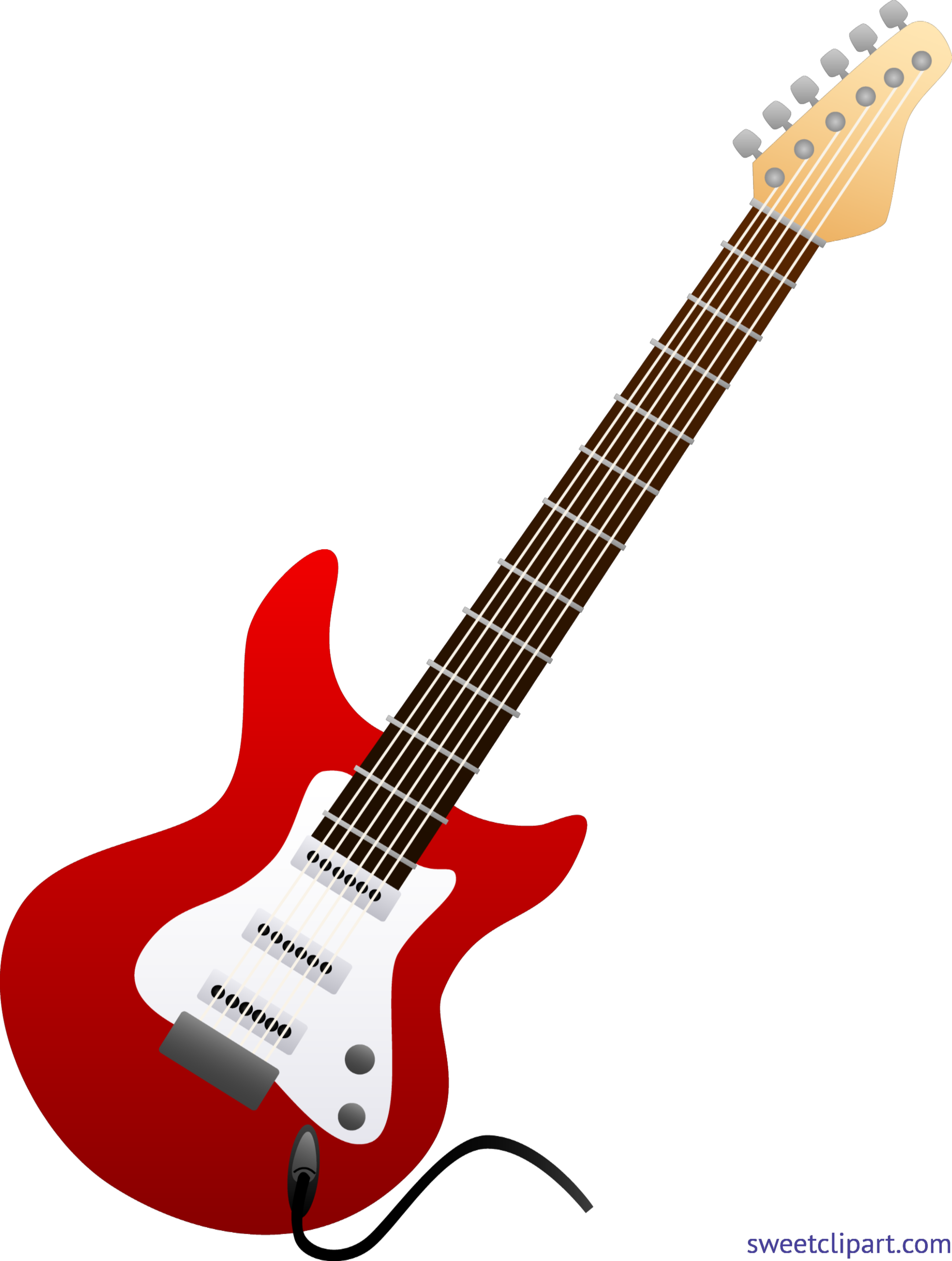 electric guitar red clip art sweet clip art rh m sweetclipart com clip art guitar photos clip art guitar w/ loose strings