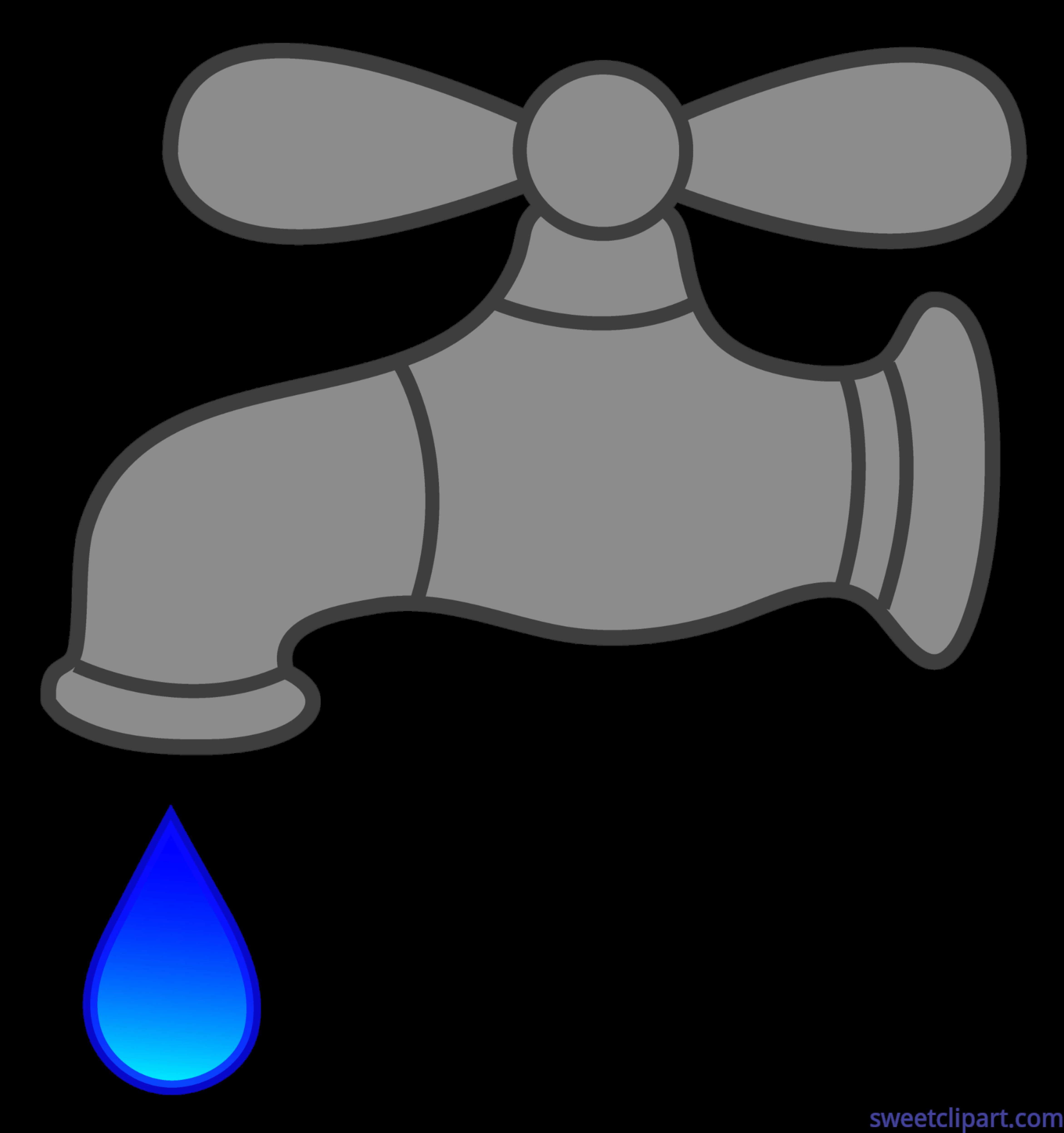 Faucet Drip Clip Art - Sweet Clip Art