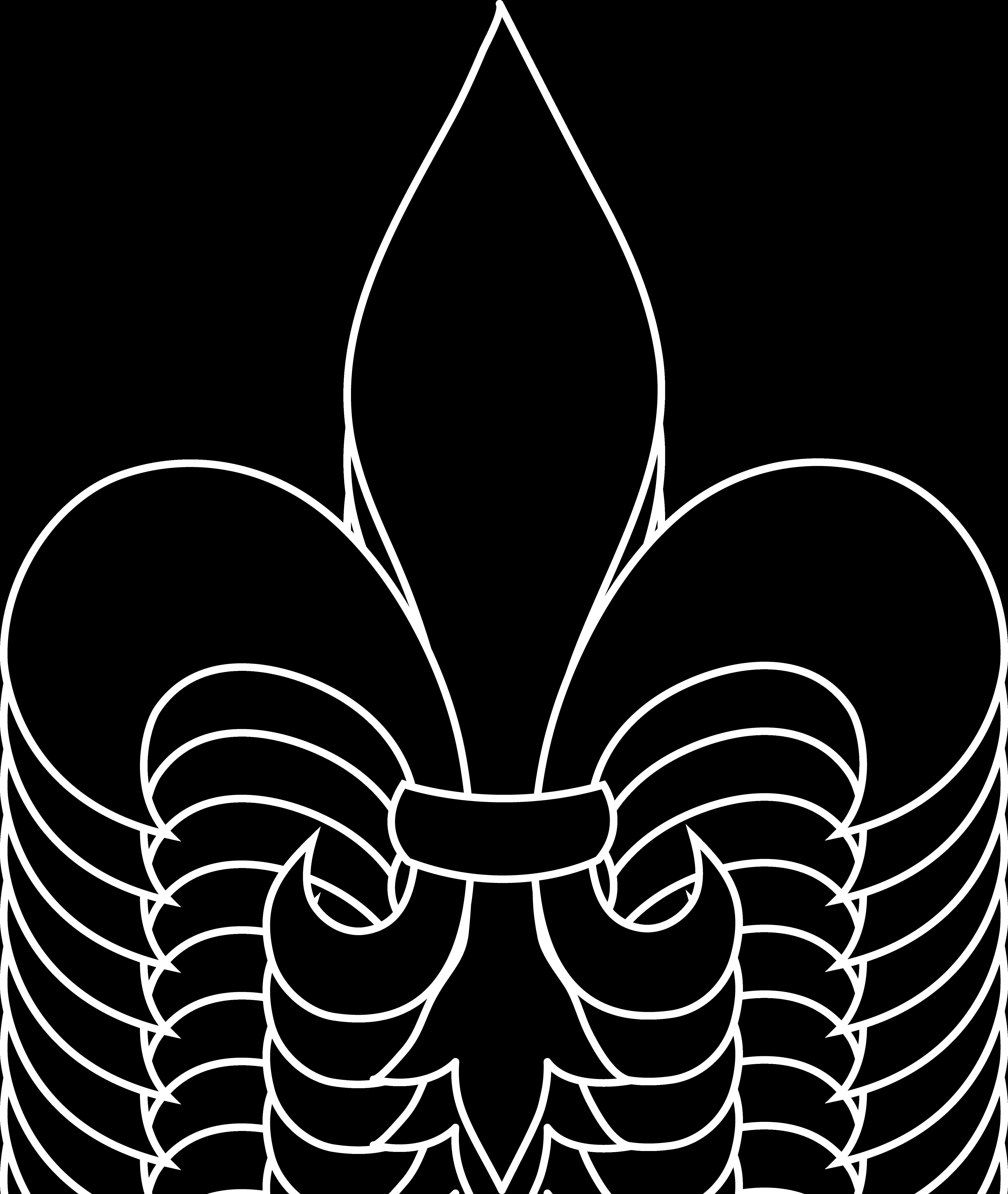 fleur de lis black silhouette clip art sweet clip art rh m sweetclipart com fleur de lis clipart free fleur de lys clipart