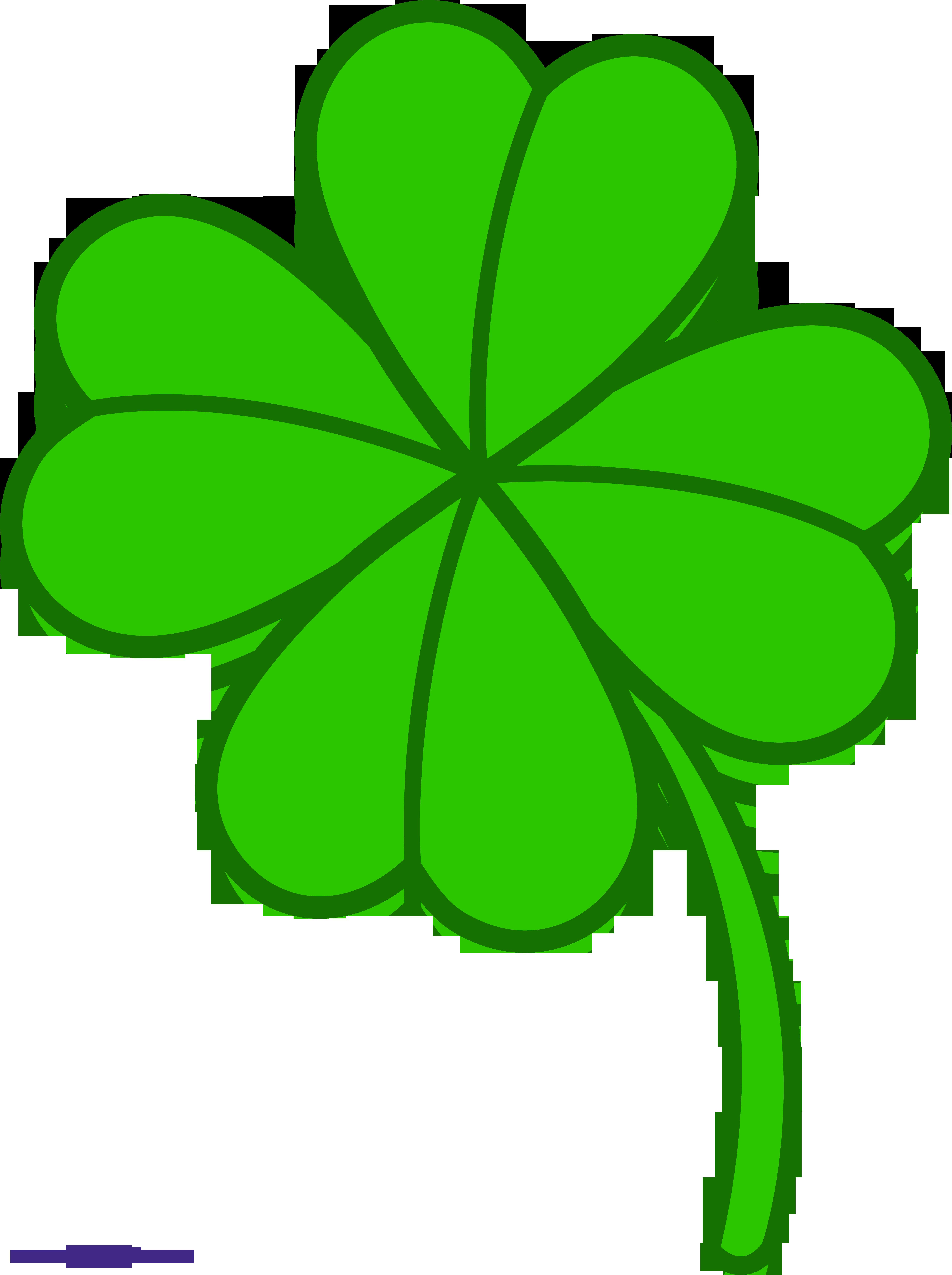 Four Leaf Clover 3 Clipart Sweet Clip Art
