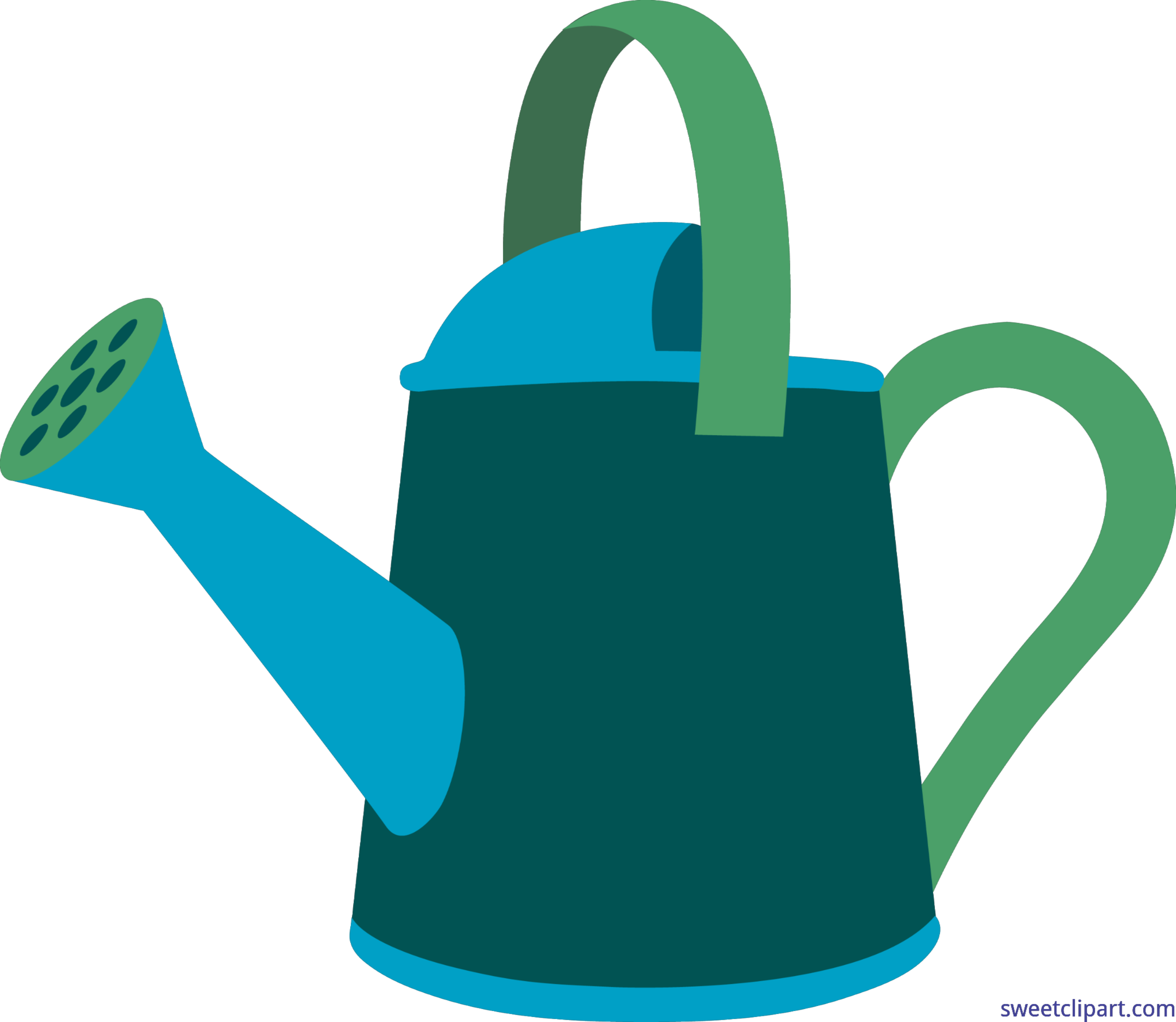 garden watering can 2 clip art - Garden Watering Can