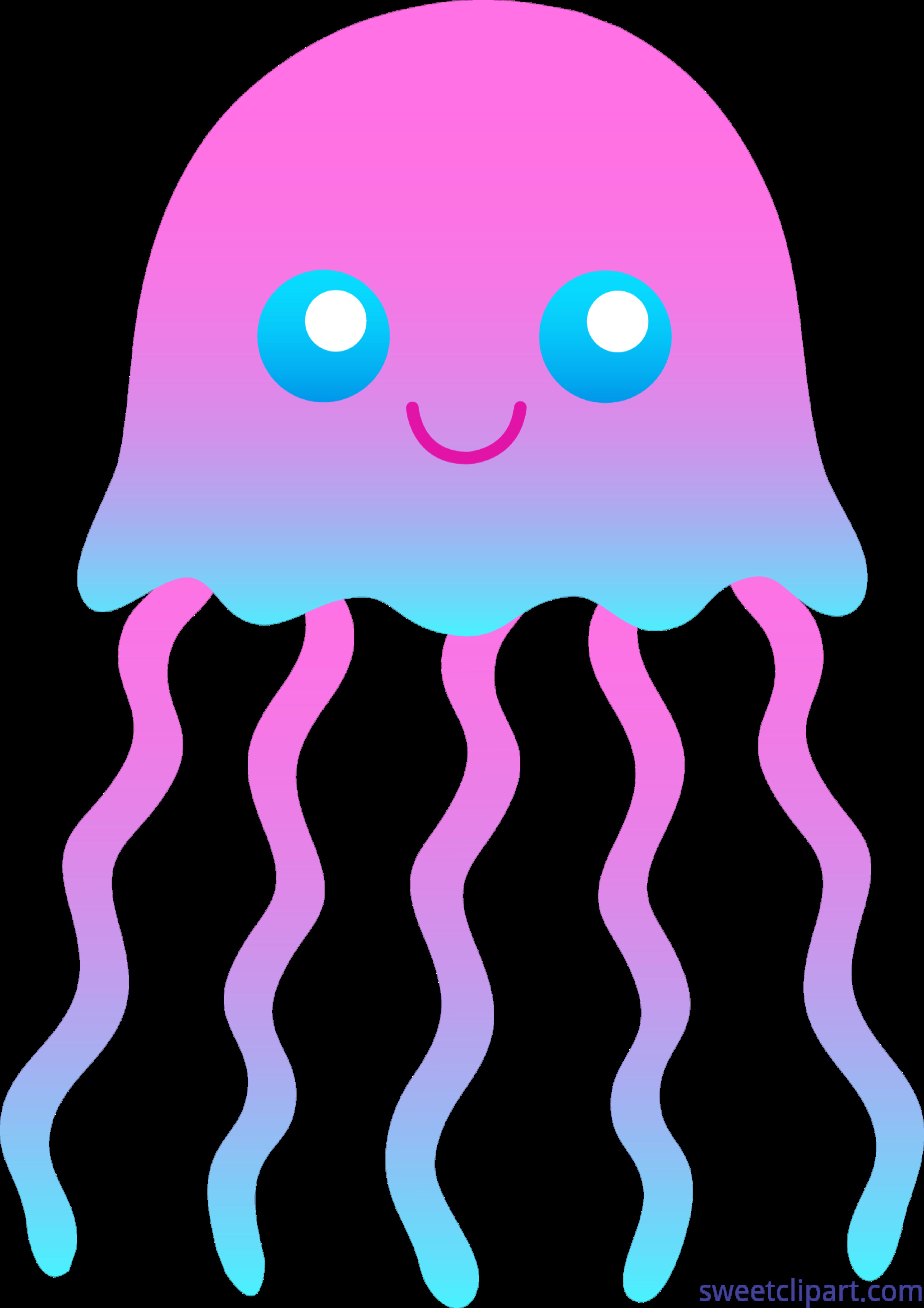 jellyfish pink blue clip art sweet clip art rh m sweetclipart com jellyfish clipart blue cute jellyfish clipart