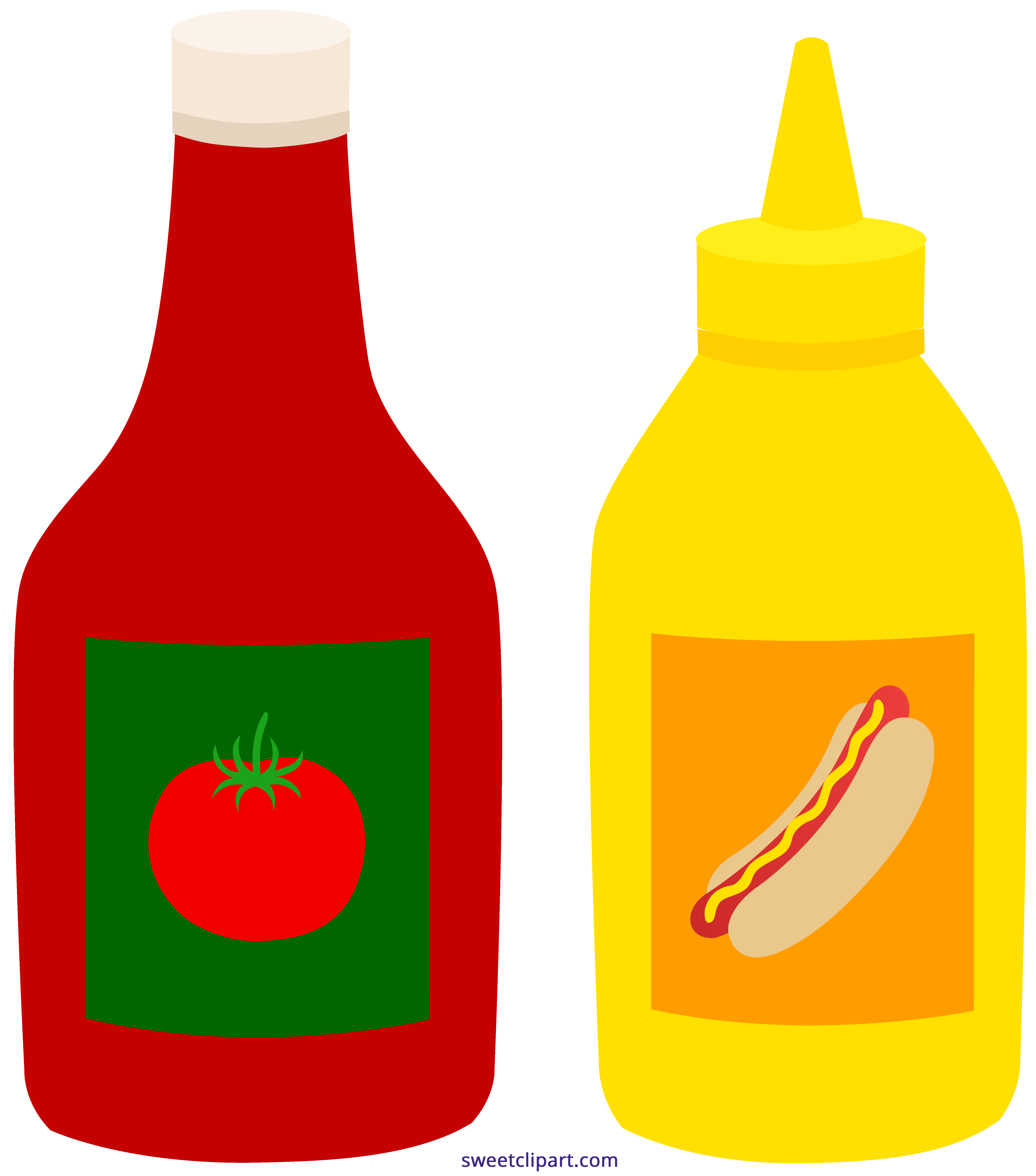 ketchup mustard bottles clipart sweet clip art rh m sweetclipart com ketchup bottle clipart black and white tomato ketchup clipart