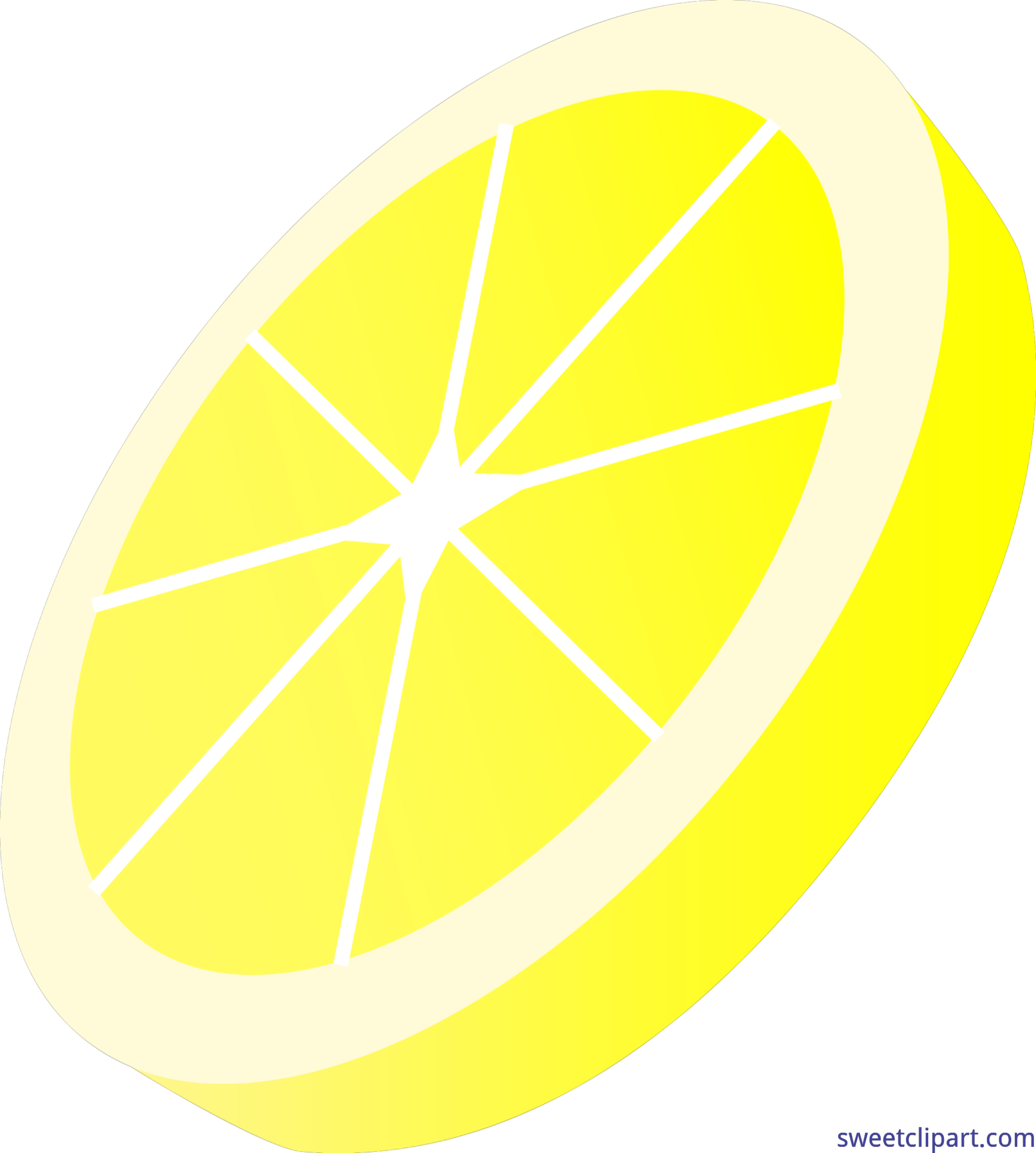 lemon slice clip art sweet clip art rh m sweetclipart com Lemon Outline Clip Art slice of lemon clipart