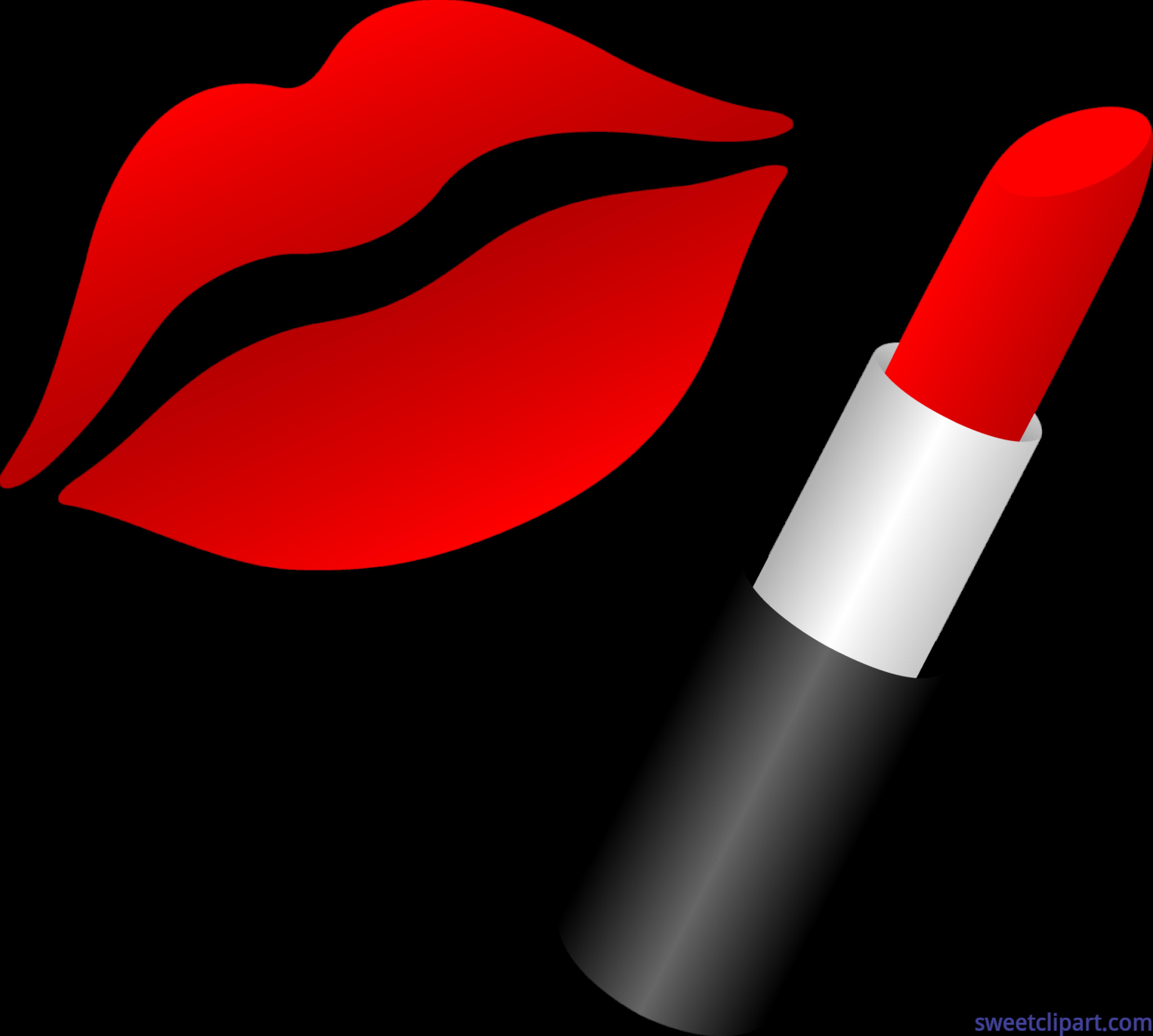 lipstick lips clip art sweet clip art rh m sweetclipart com lipstick clip art free lipstick clipart mac