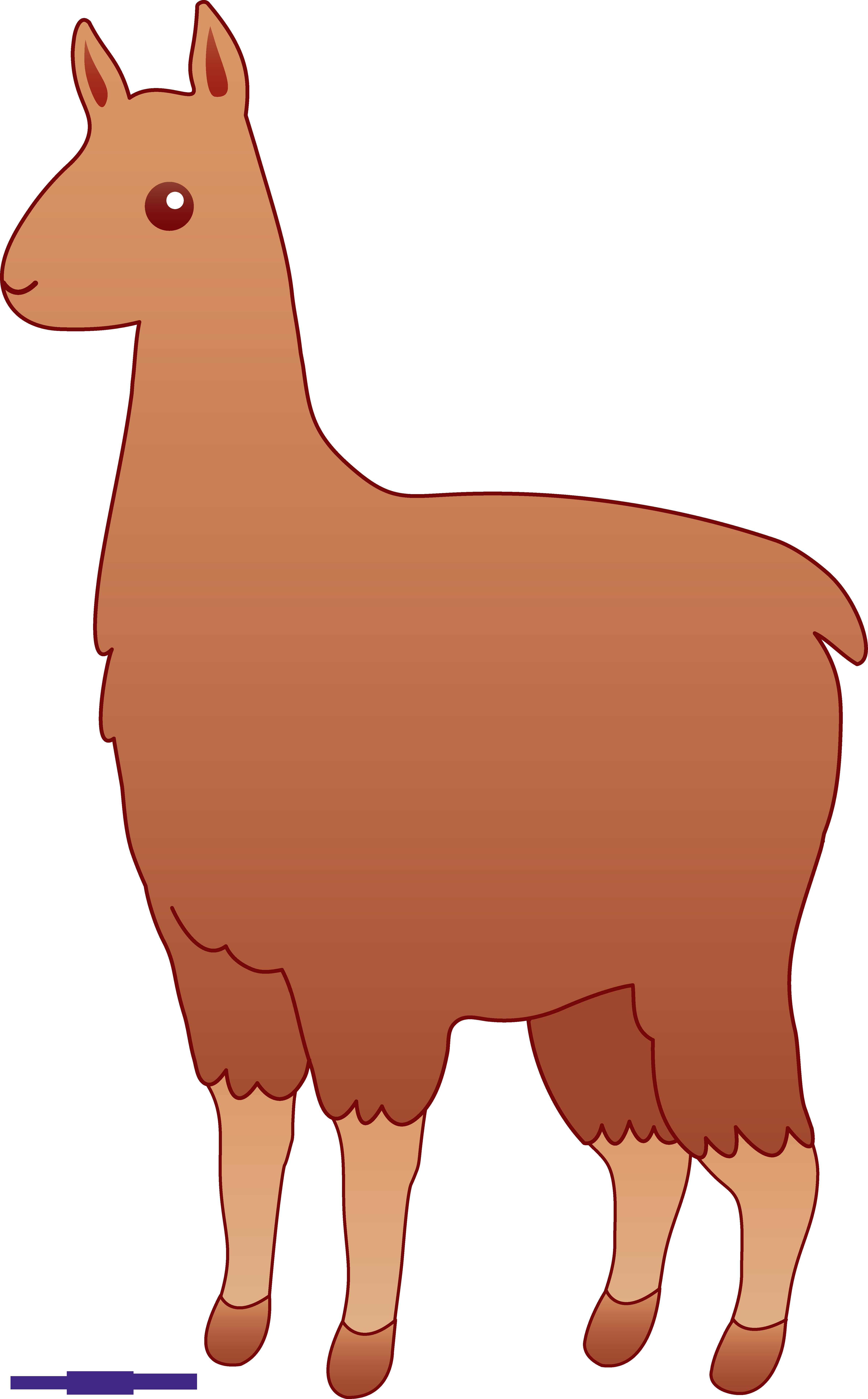 llama brown clipart sweet clip art rh m sweetclipart com llama clipart cute llama clip art black and white